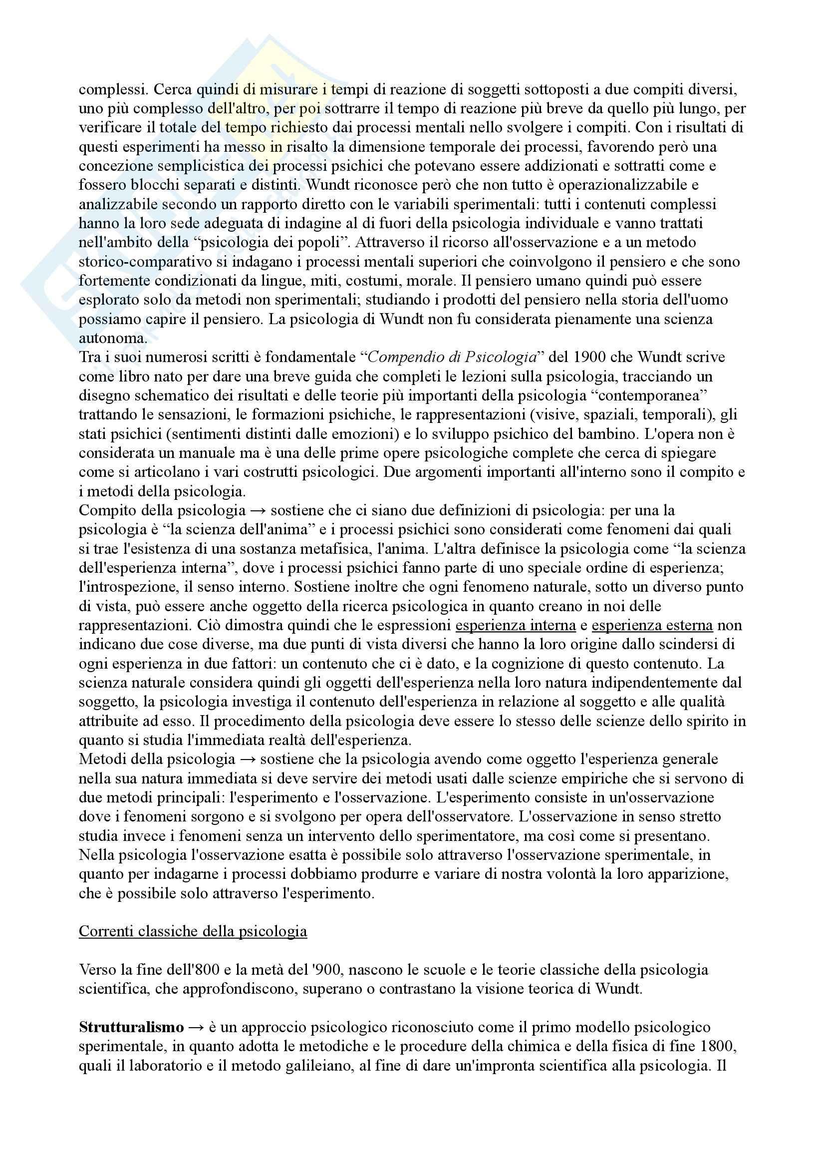 Riassunto esame Classici della psicologia, prof. Meneghetti Pag. 2