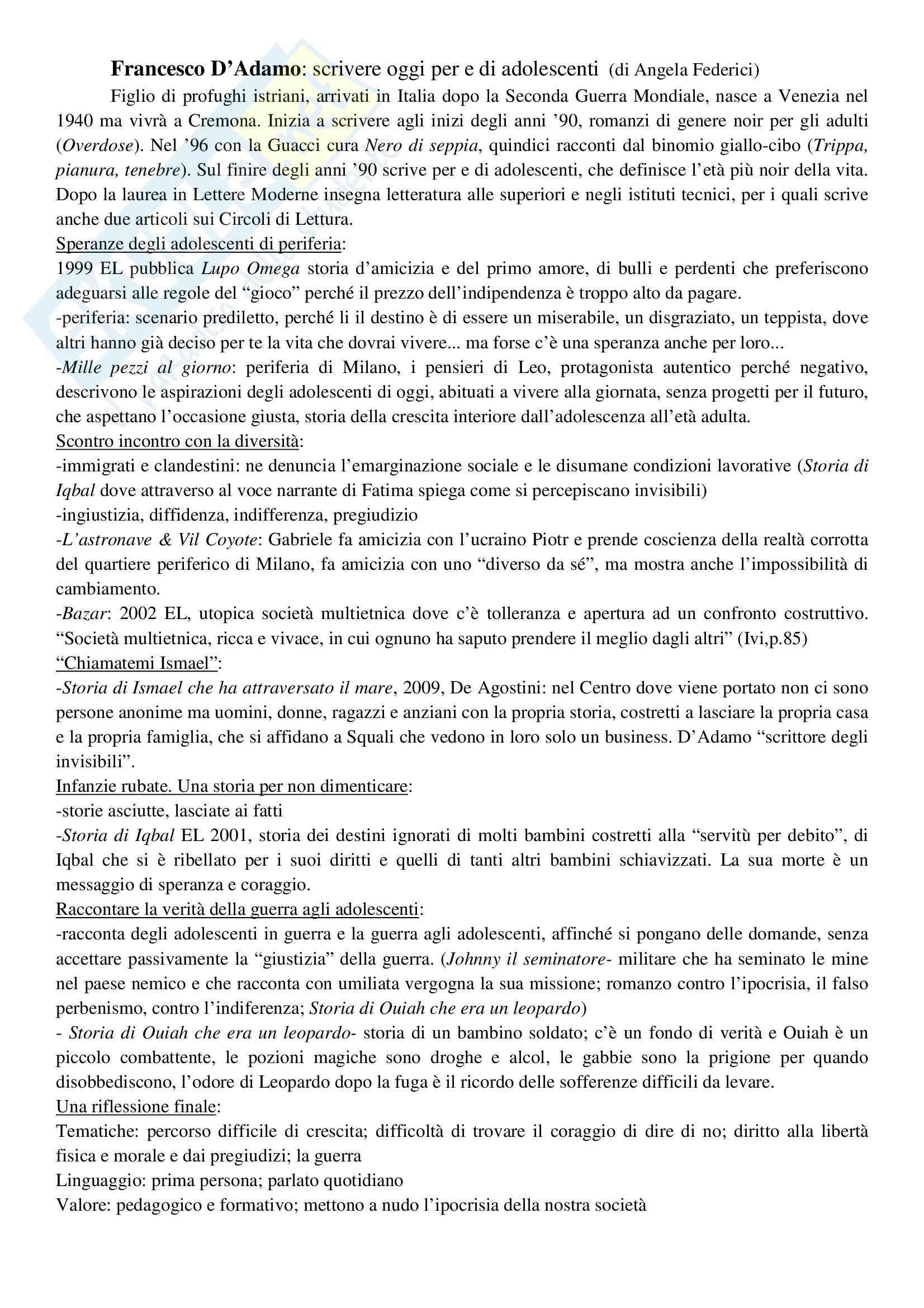 Riassunto esame Letteratura per l'Infanzia, prof. Bacchetti, libro consigliato La Fantasia al Potere Pag. 2
