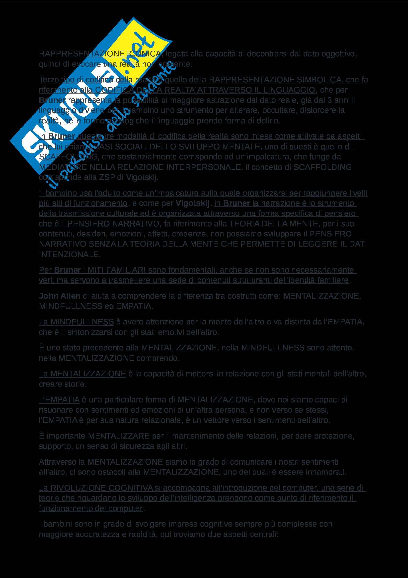 Riassunto esame Psicologia dello Sviluppo, Prof. Nicolais, libro consigliato Manuale Psicologia dello Sviluppo, Shaffer e Kipp Pag. 41