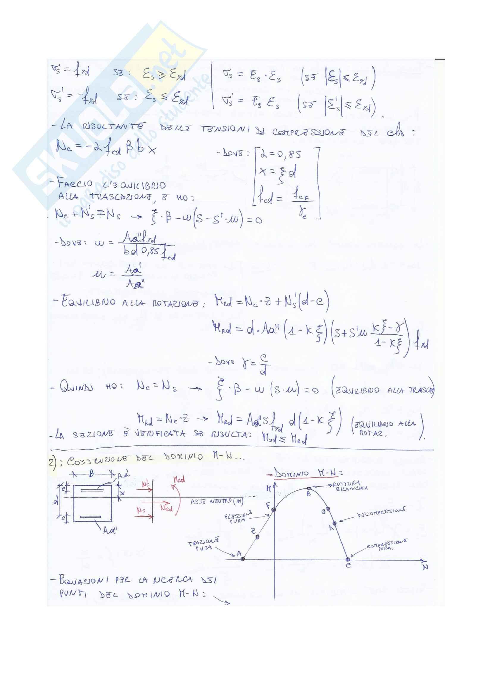 Esercizi tecnica delle costruzioni Pag. 6