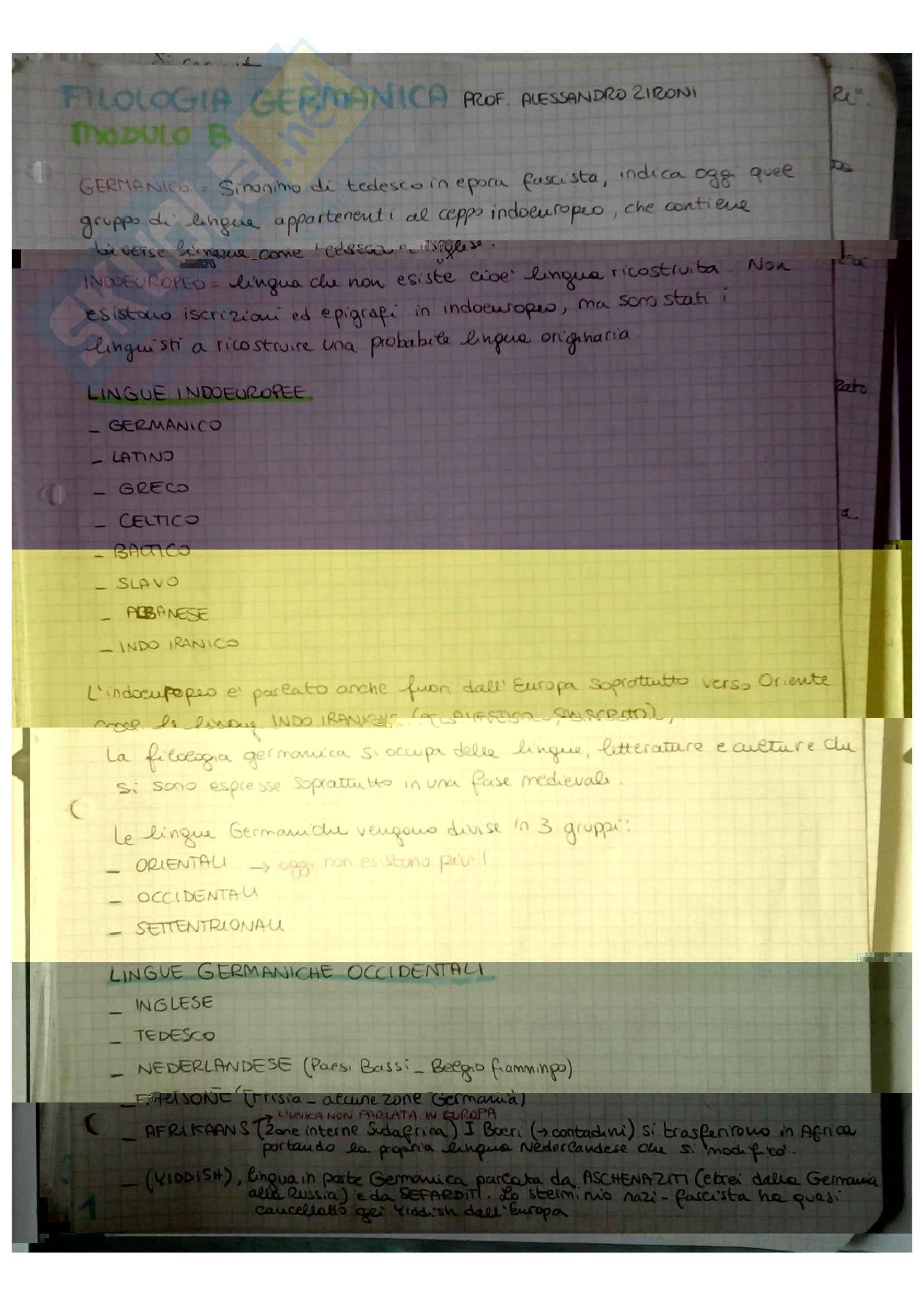 Filologia germanica Pag. 2