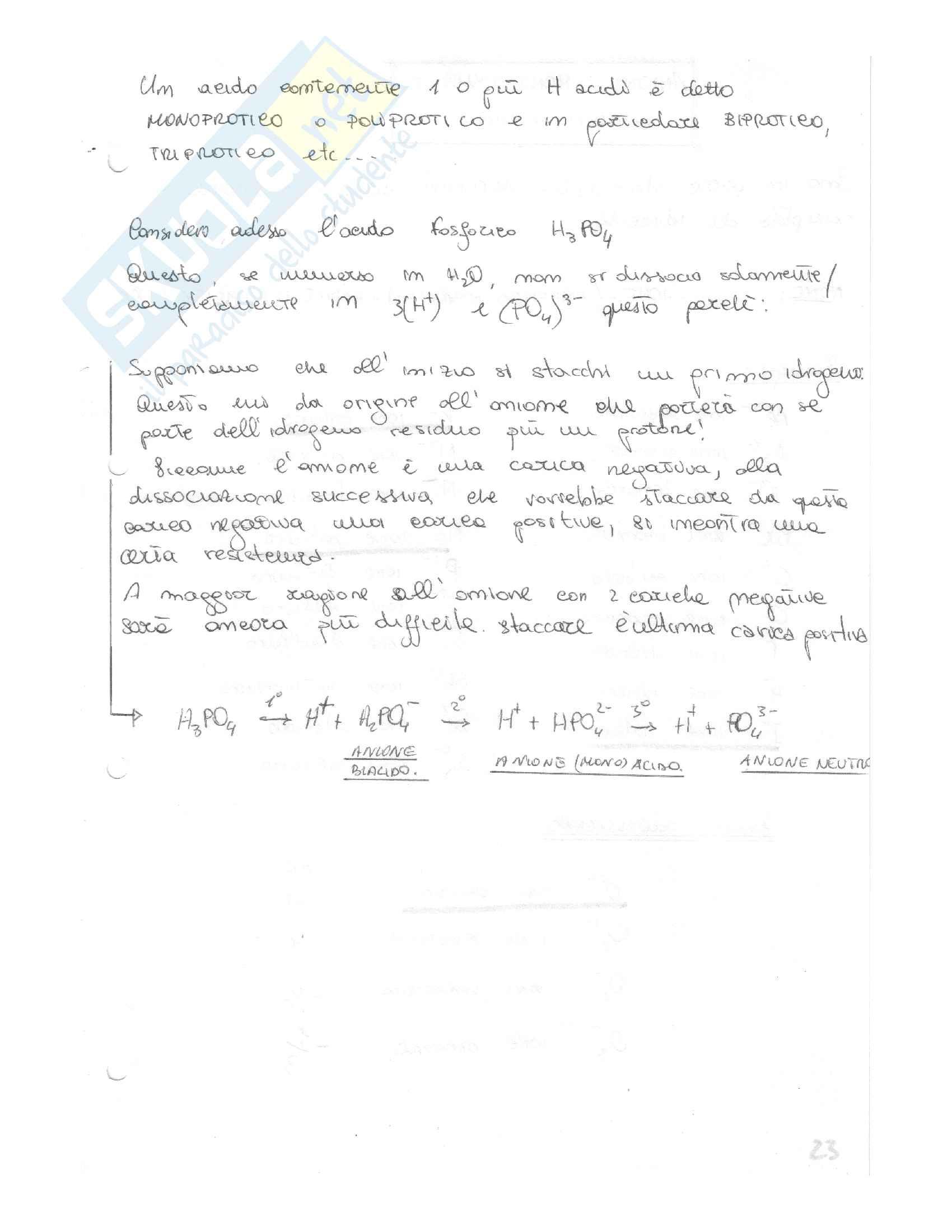 Teoria Chimica - schemi e formule per esercizi - riassunti Pag. 41