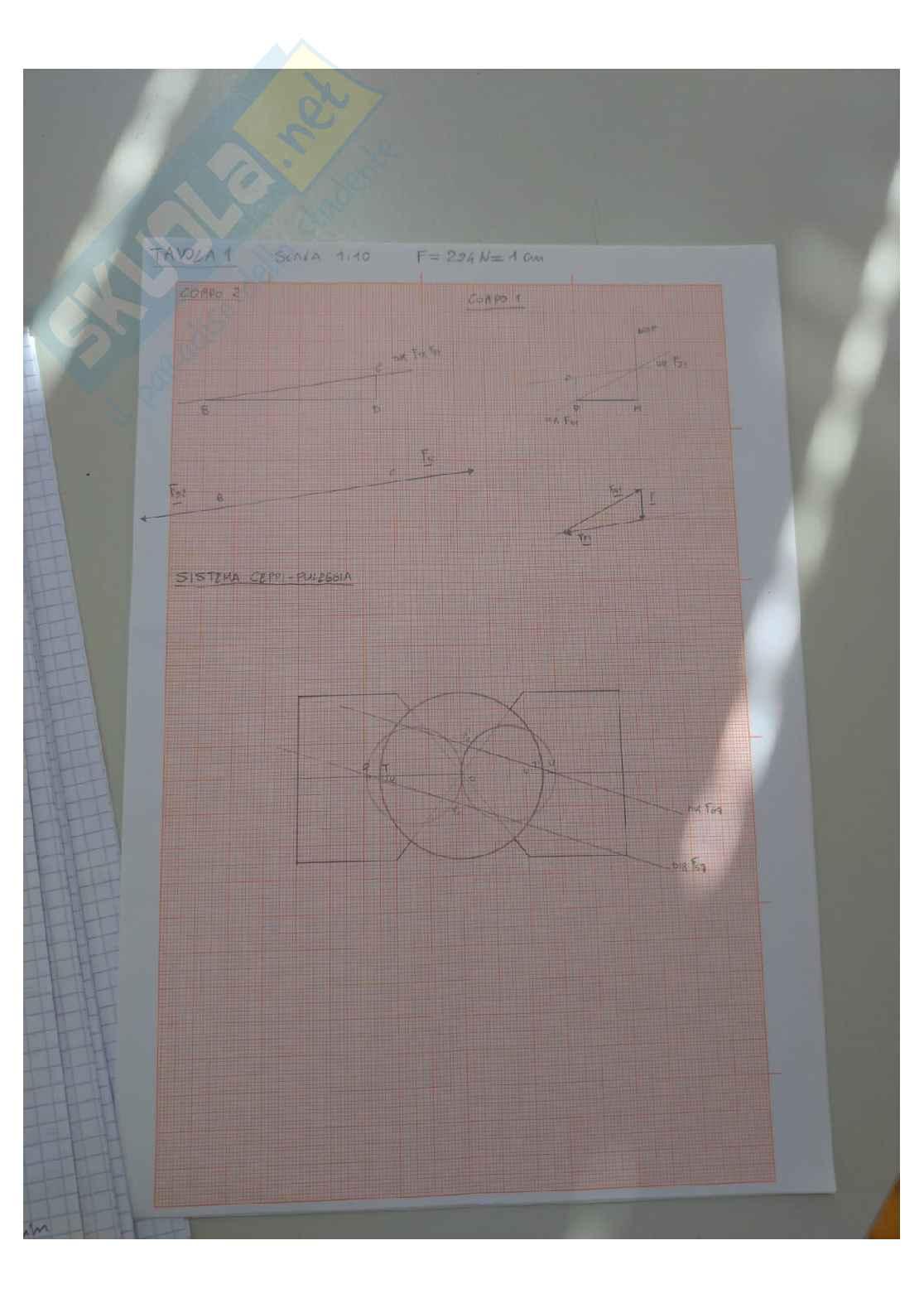 Tavole del Laboratorio di Meccanica applicata complete Pag. 6