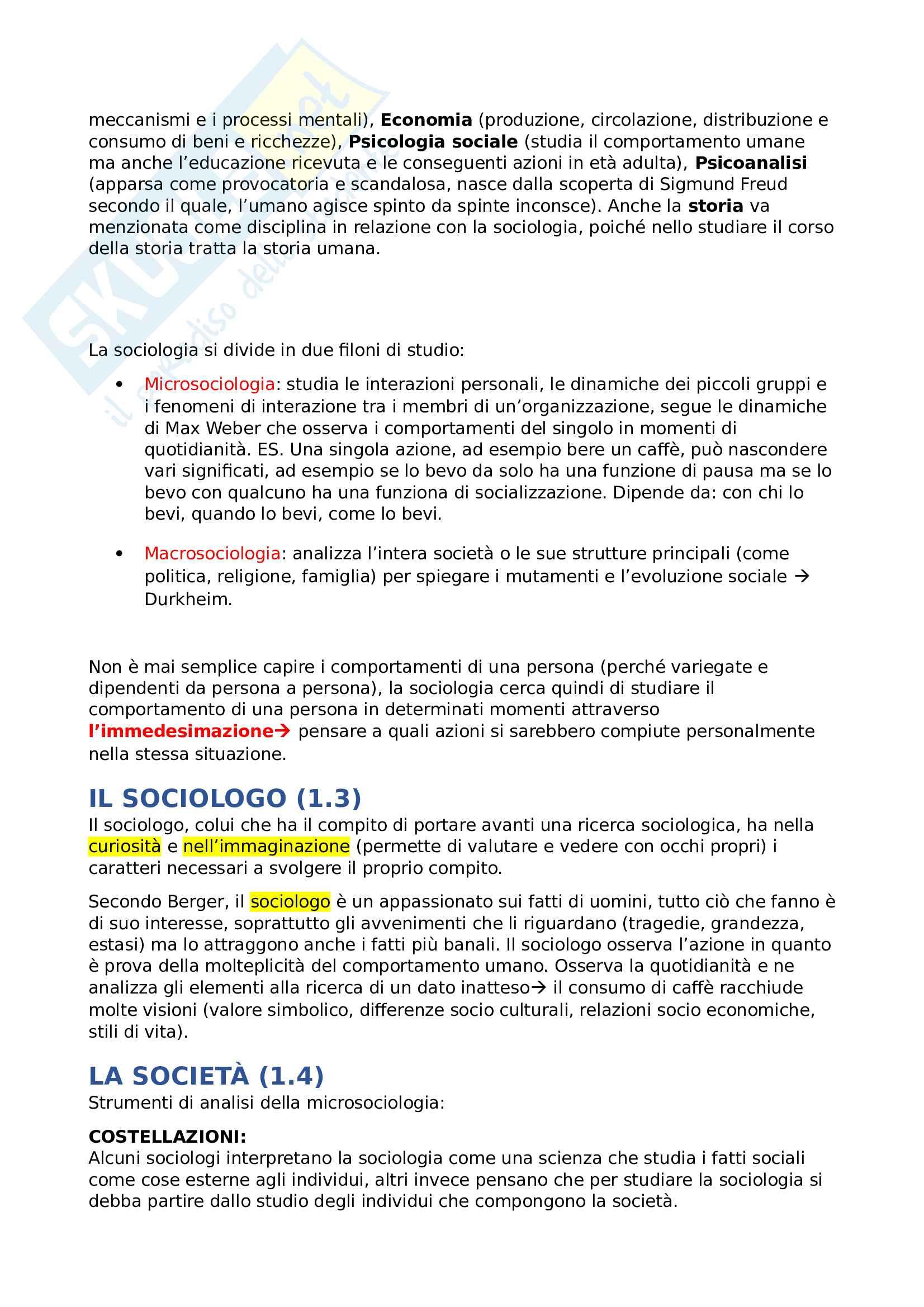Sociologia del cambiamento nell' era digitale- 1° Parziale Pag. 2