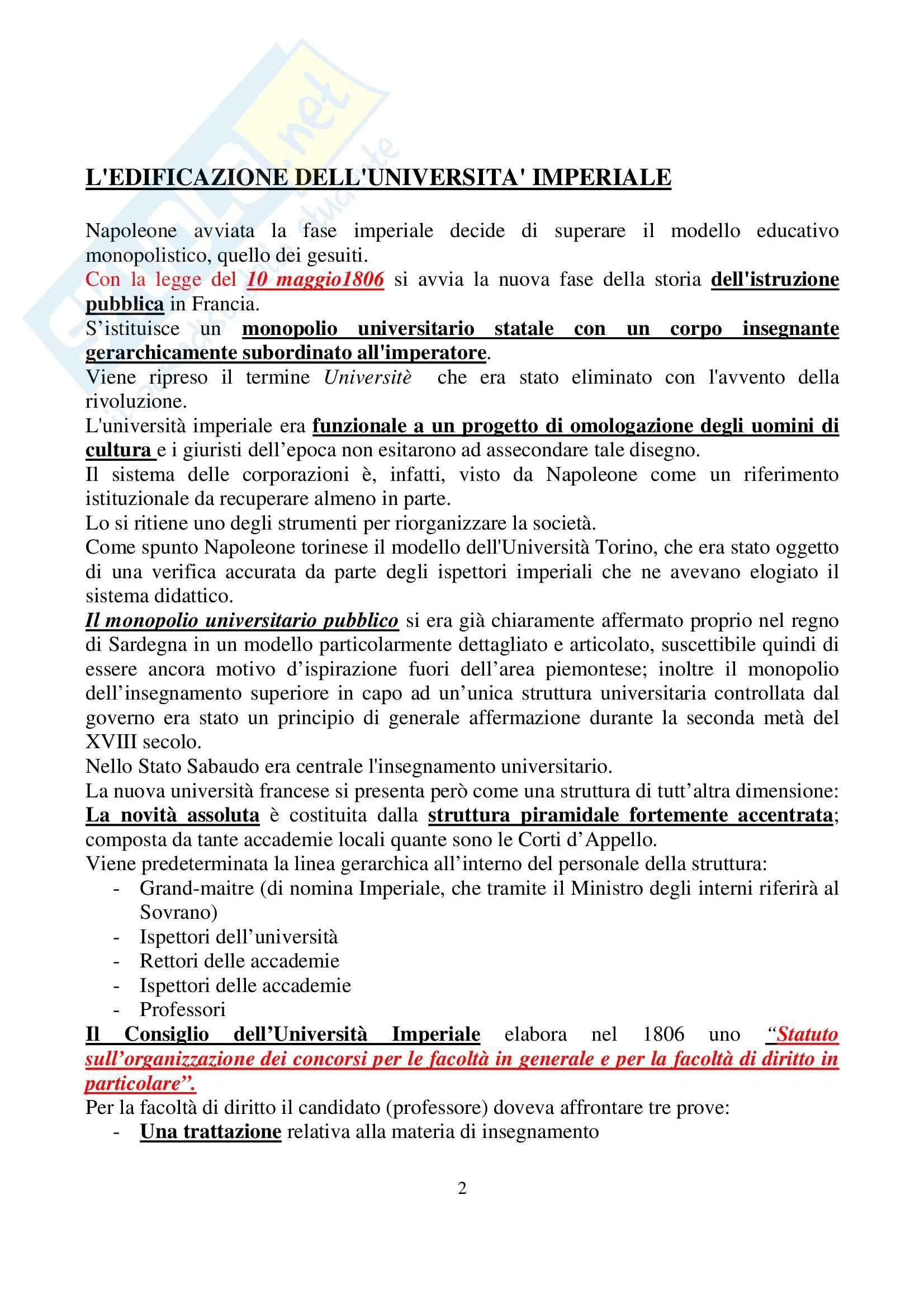 Riassunto esame Storia delle Costituzioni, prof. Ferrante, libro consigliato Storia delle costituzioni Pag. 2