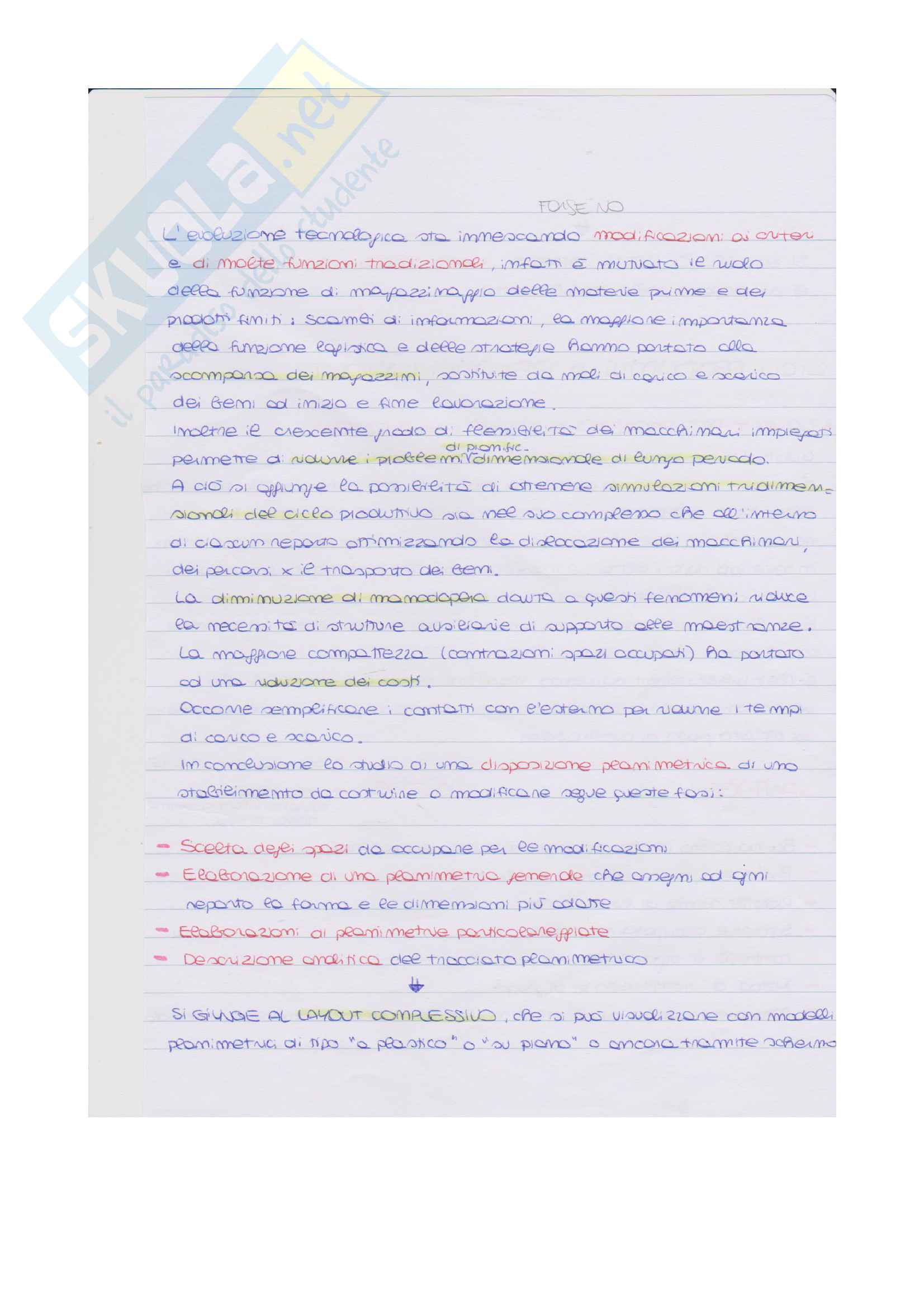 Appunti Operation Management Pag. 16
