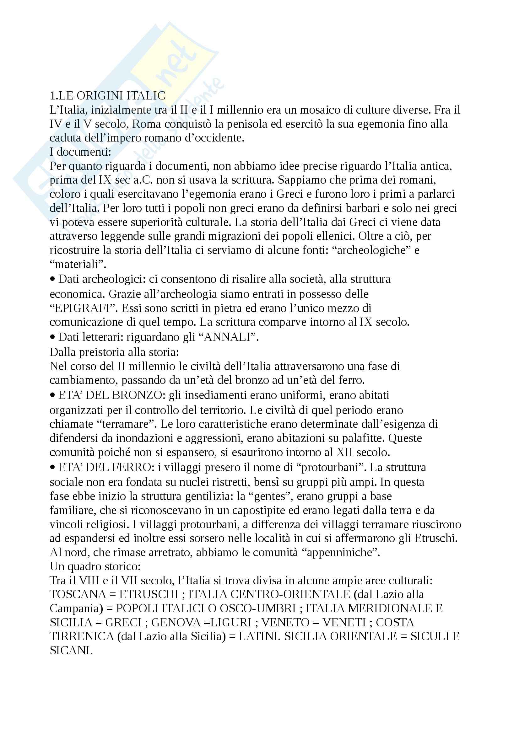 appunto D. Franchina Storia romana