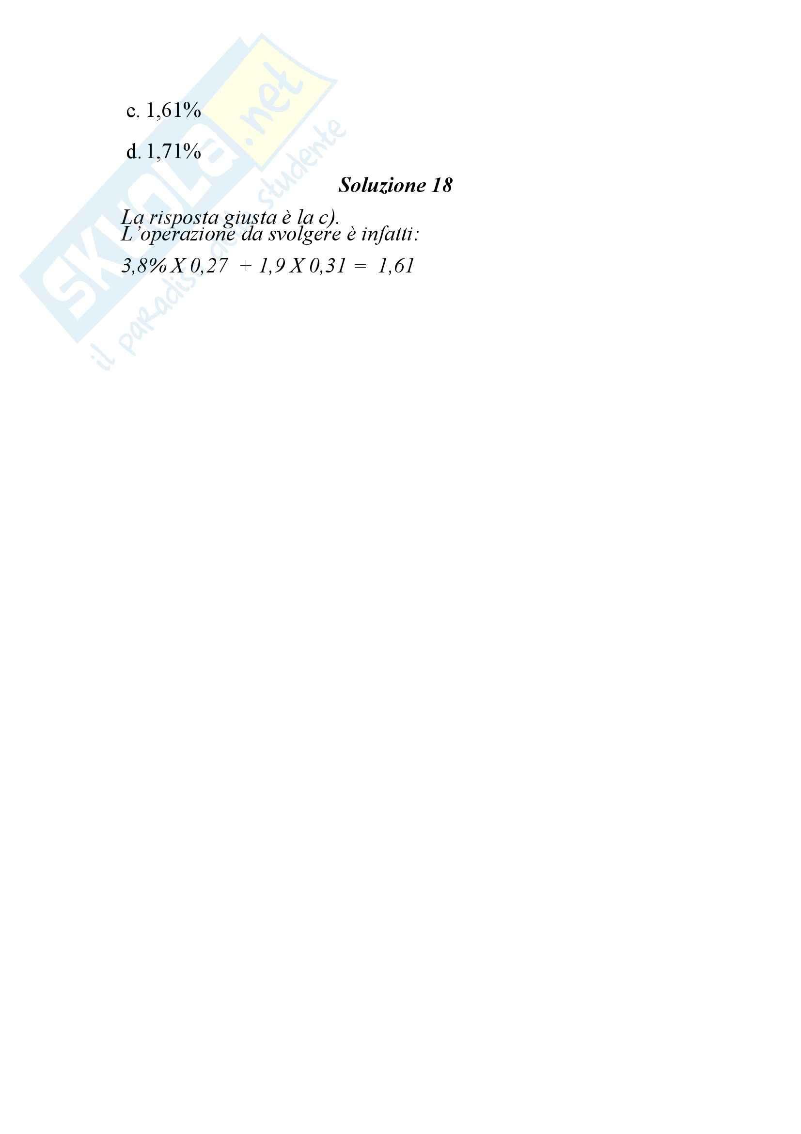 Variabili economiche Pag. 16