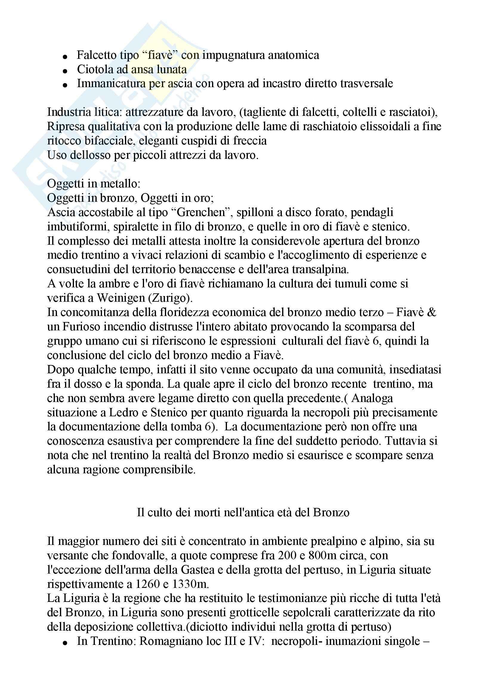 Paletnologia - la storia del Trentino Pag. 16
