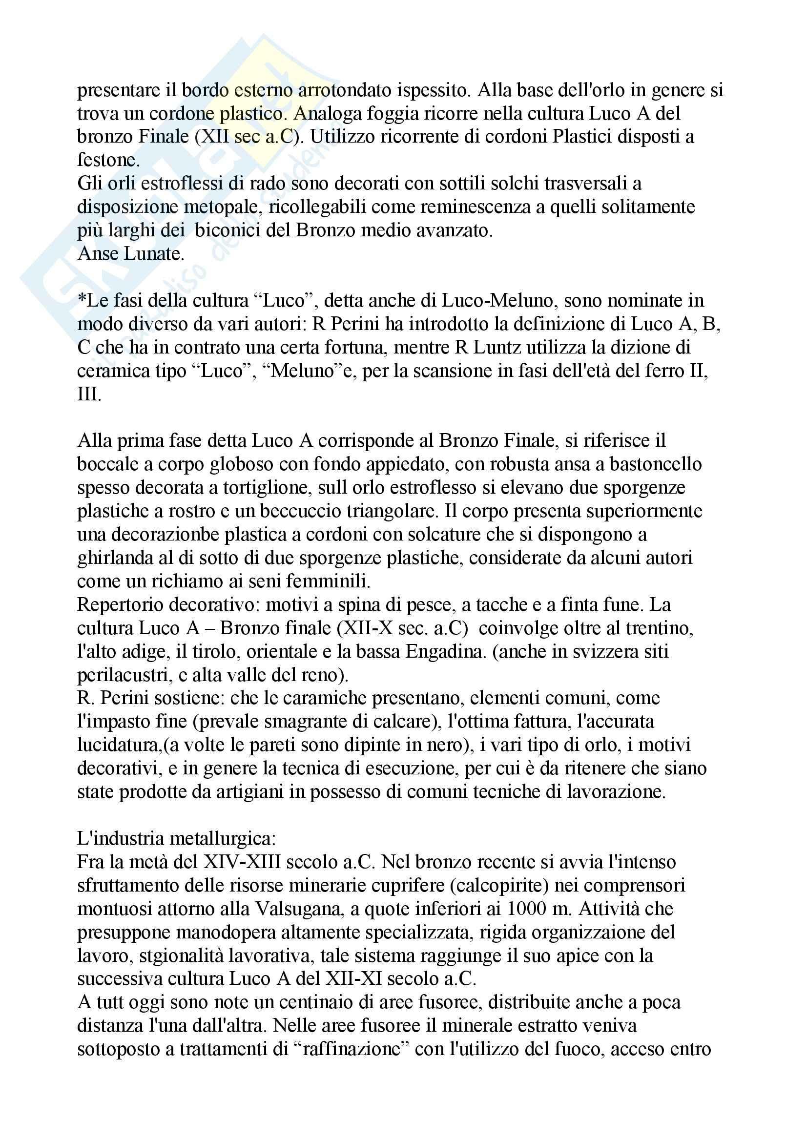 Paletnologia - la storia del Trentino Pag. 21