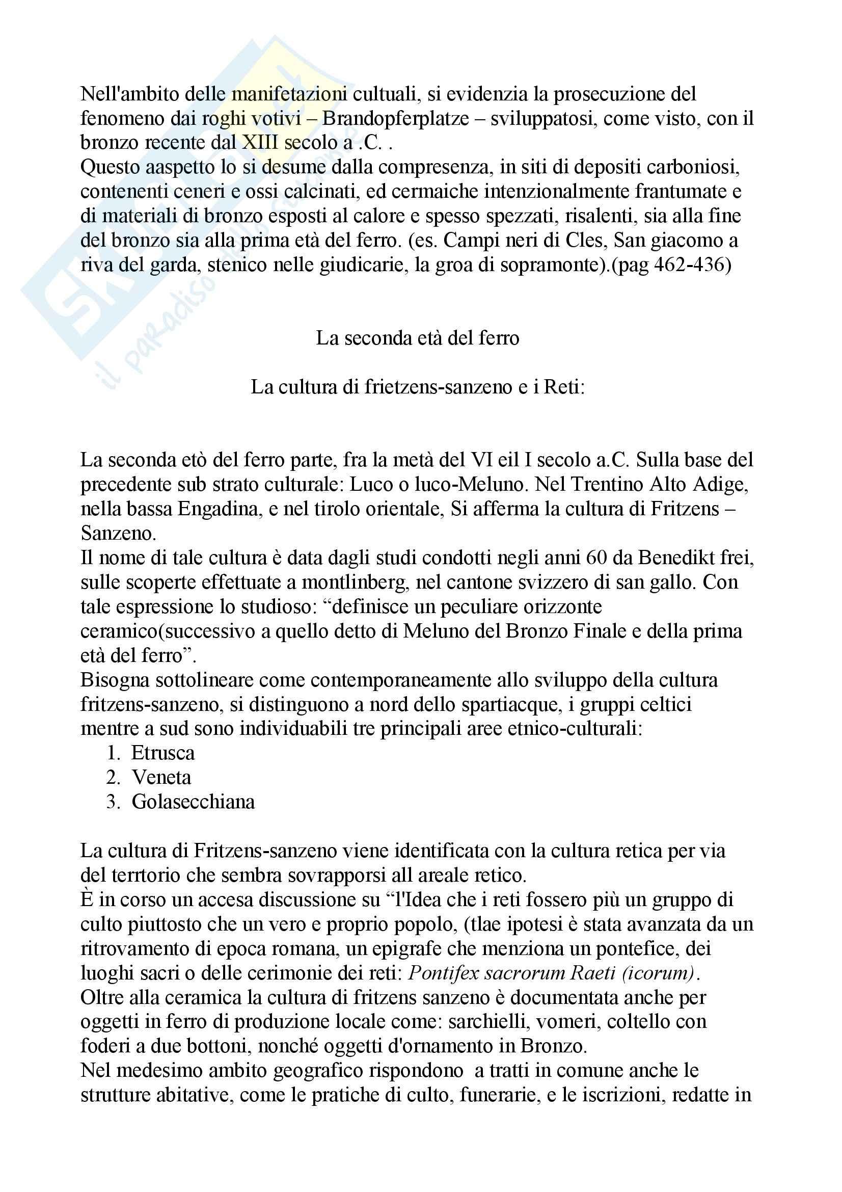 Paletnologia - la storia del Trentino Pag. 31