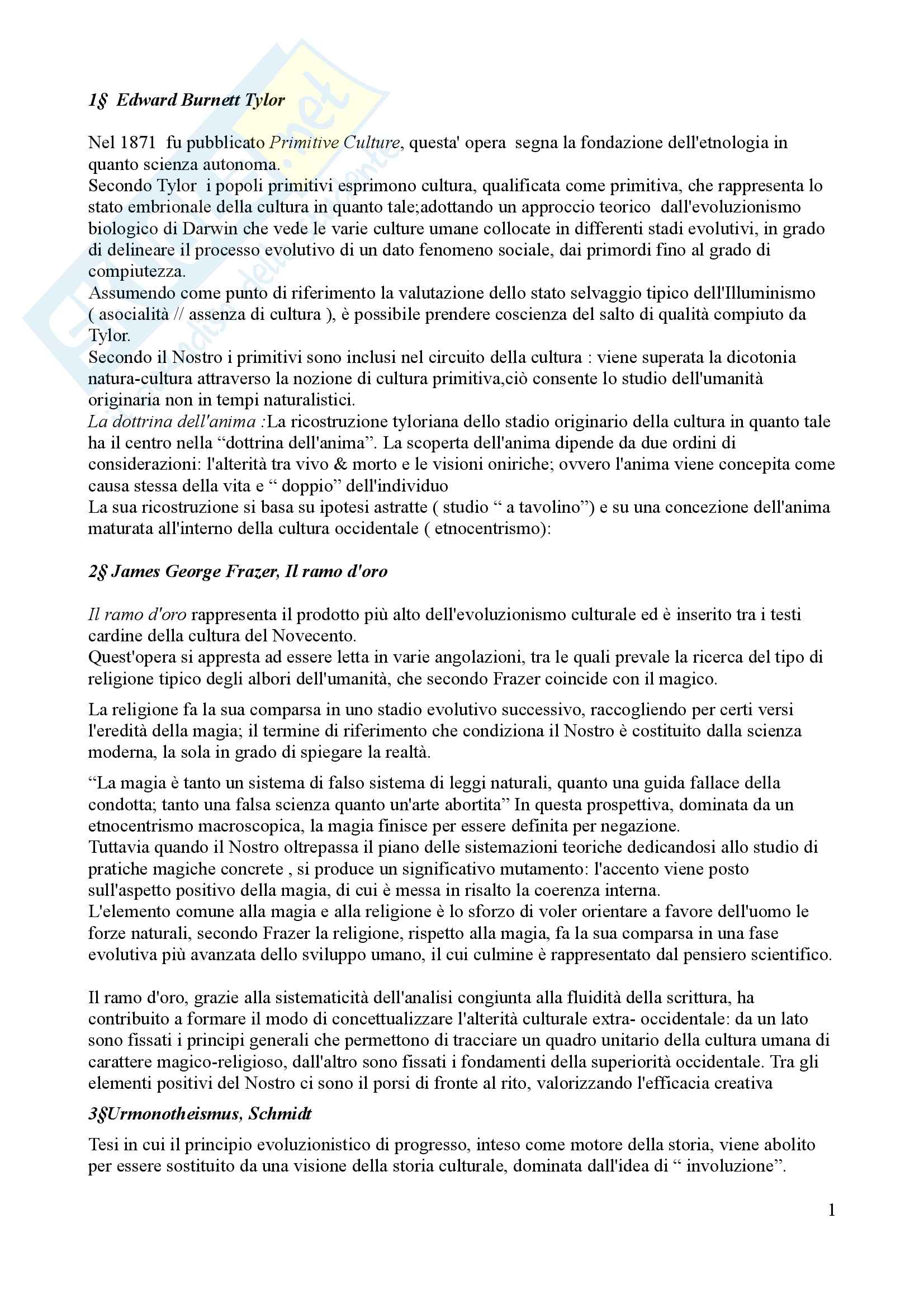 appunto A. Capomacchia Antropologia delle religioni