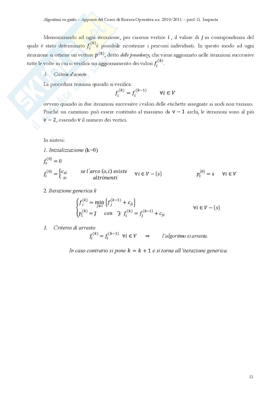 Ricerca Operativa – Programmazione discreta Pag. 96