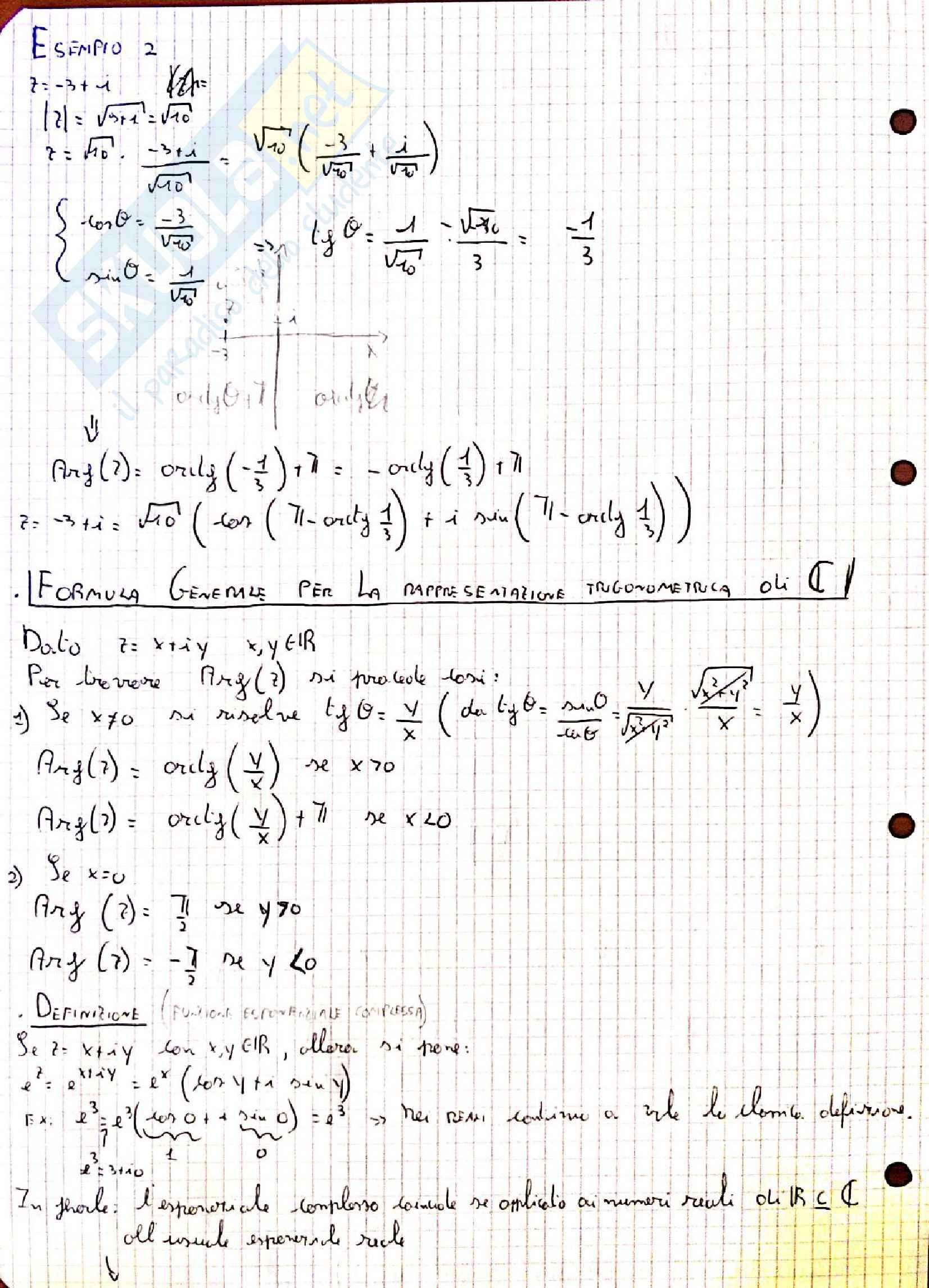 Appunti di analisi matematica 2 Pag. 6