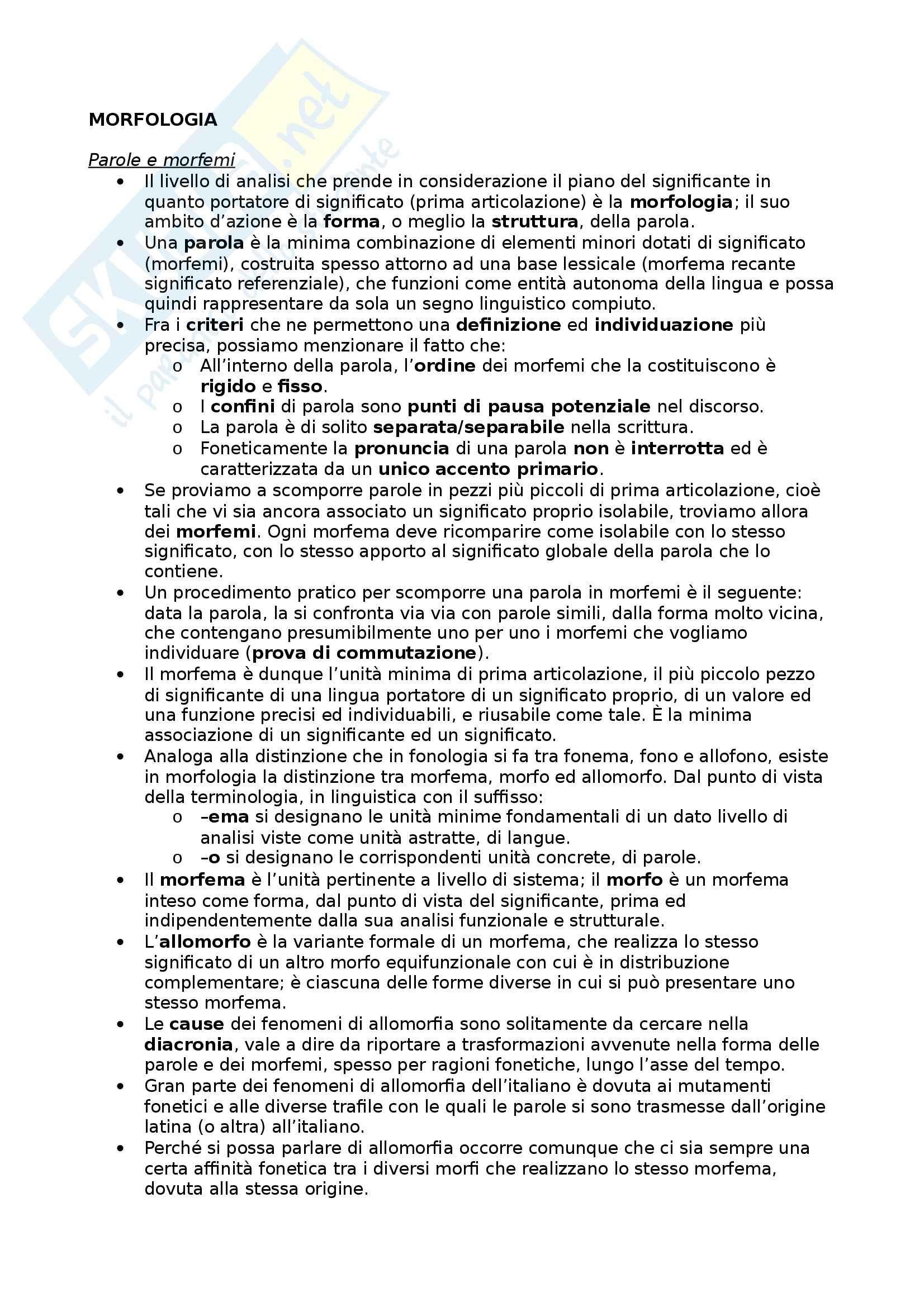 Riassunto esame Glottologia, prof. Bonfadini, libro consigliato La Linguistica: Un Corso Introduttivo, Berruto, Cerruti - cap. 3