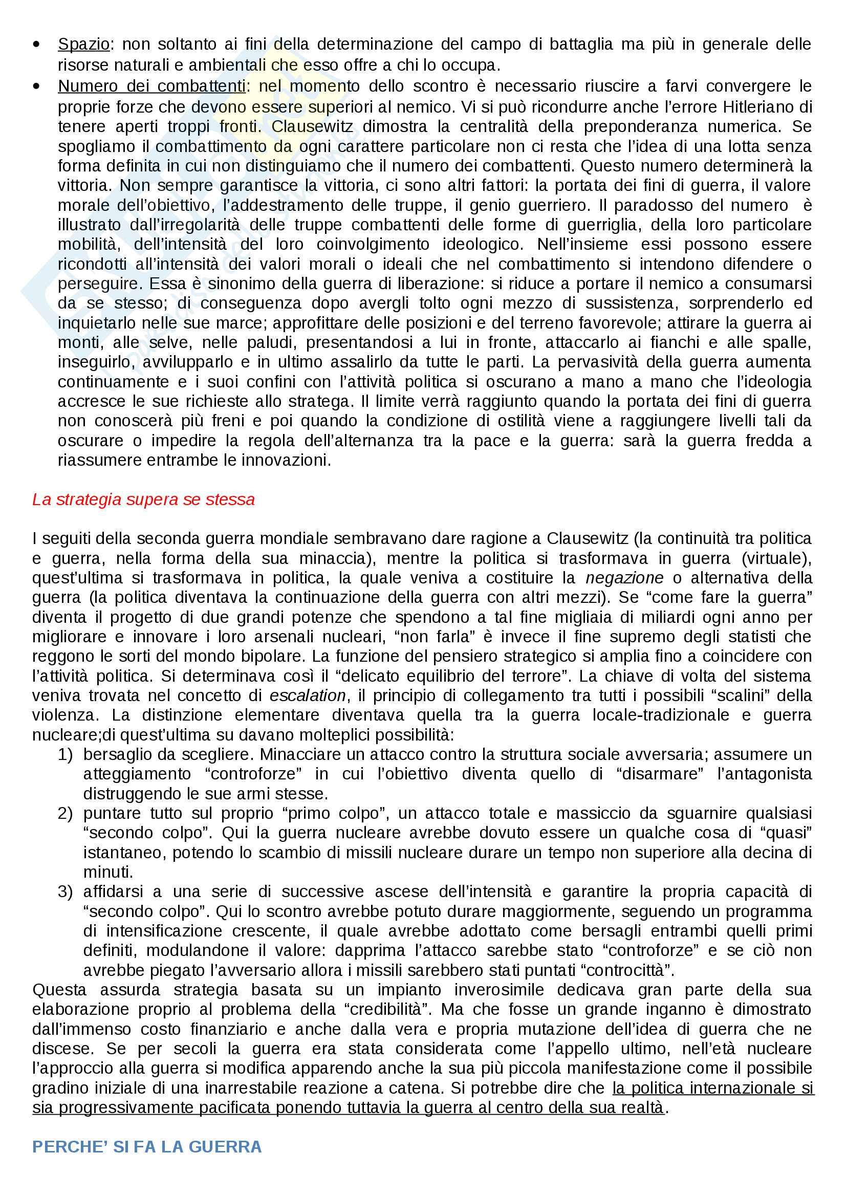 Riassunto esame Storia della guerra, docente Minniti, libro consigliato La guerra, Luigi Bonanate Pag. 6