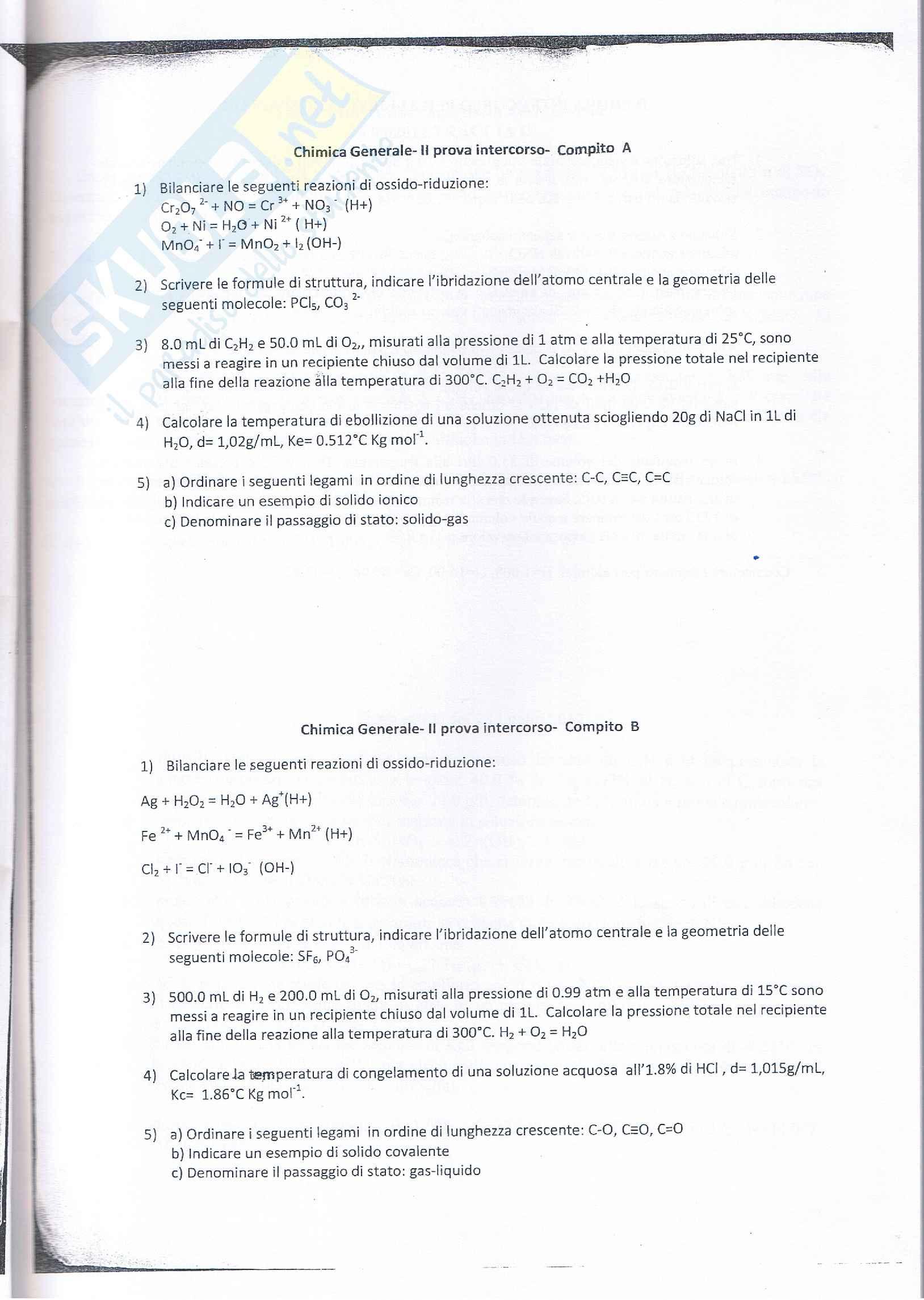Prove intercorso prof. Costantini Pag. 11