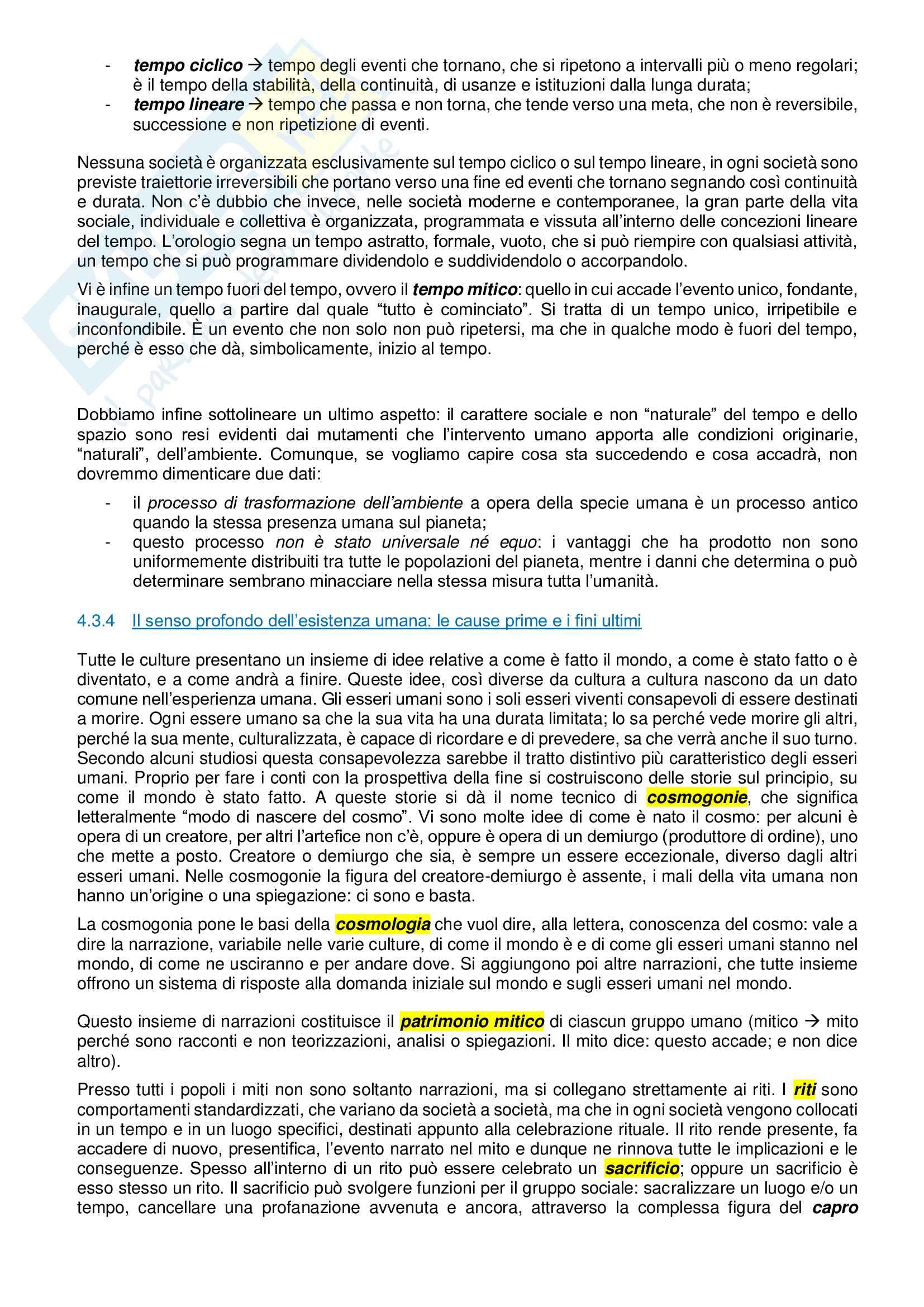 Riassunto esame Antropologia culturale, lineamenti essenziali Pag. 26