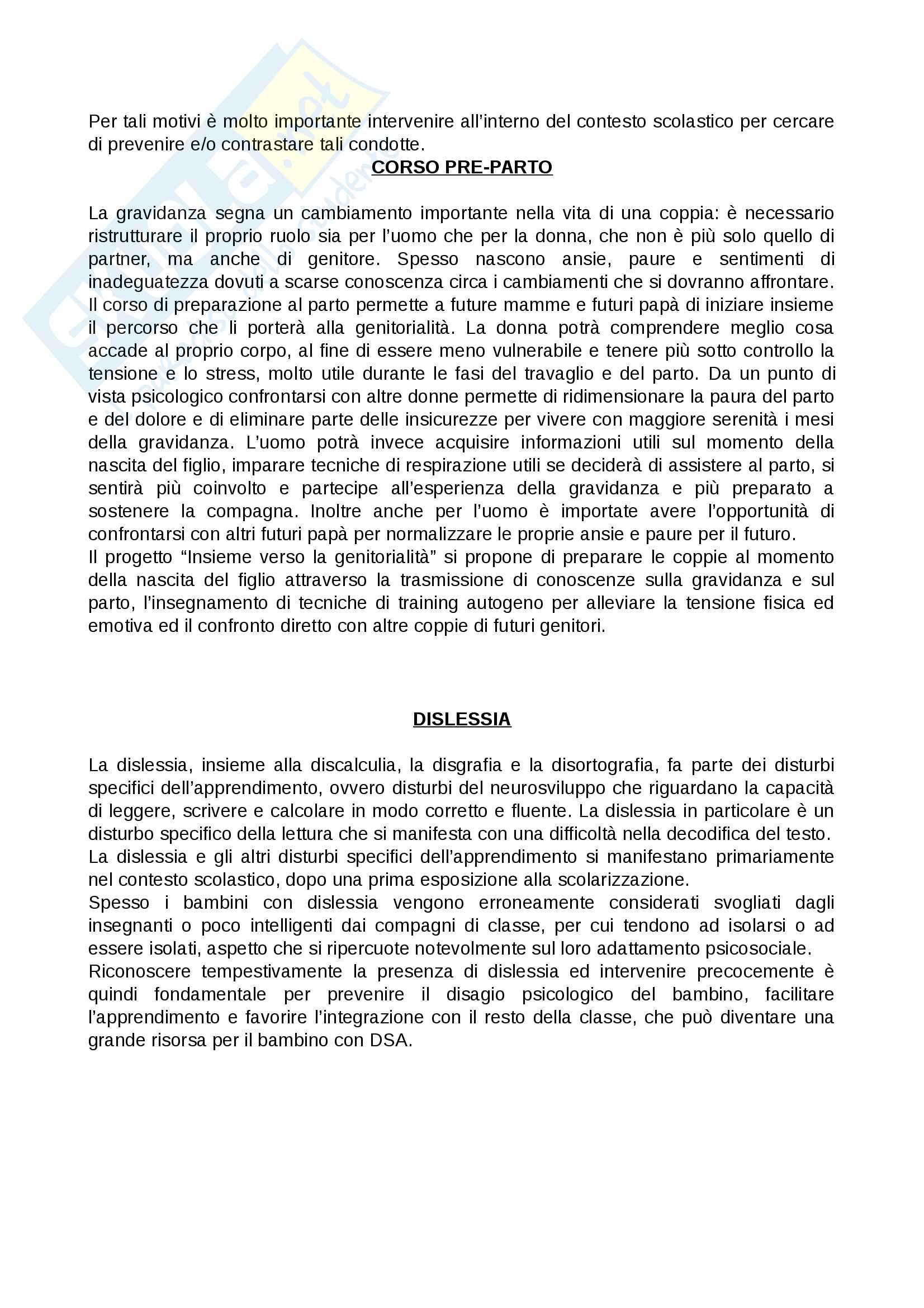 Materiale seconda prova (progetto) Pag. 2