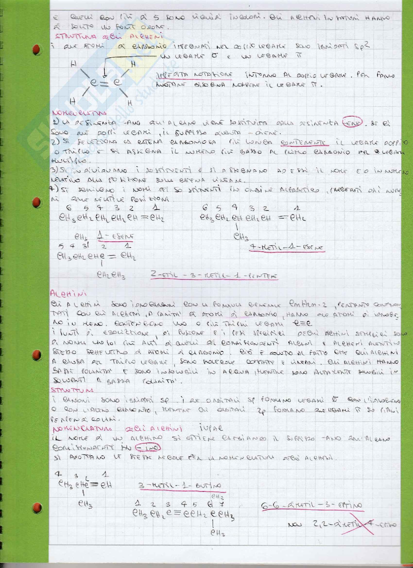 Appunti Chimica organica Pag. 11