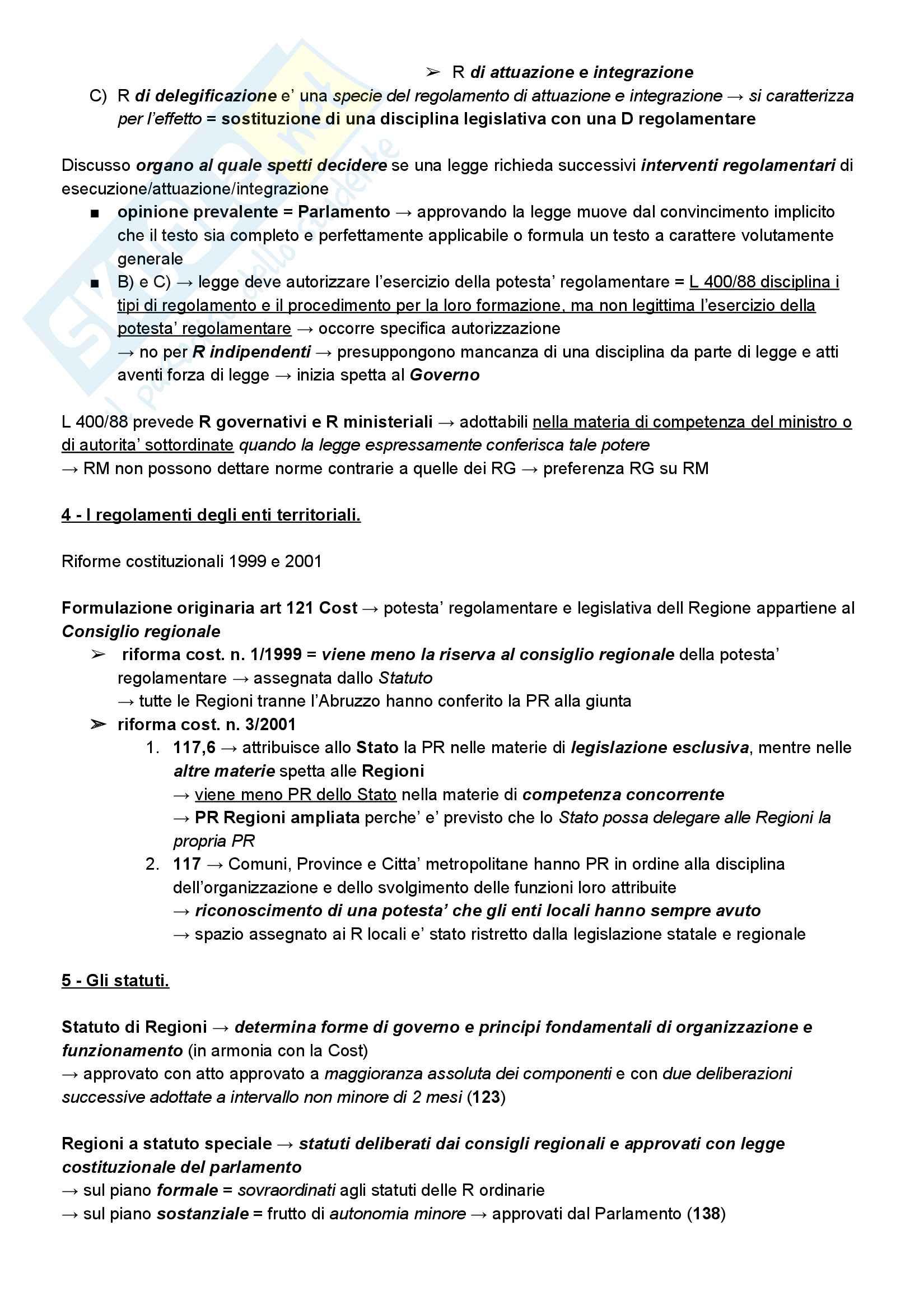 Riassunto esame diritto amministrativo, prof. Barbara Marchetti (UniTn), libro consigliato Manuale di Diritto Amministrativo, Guido Corso, ultima edizione, AA. 2016/2017 Pag. 16