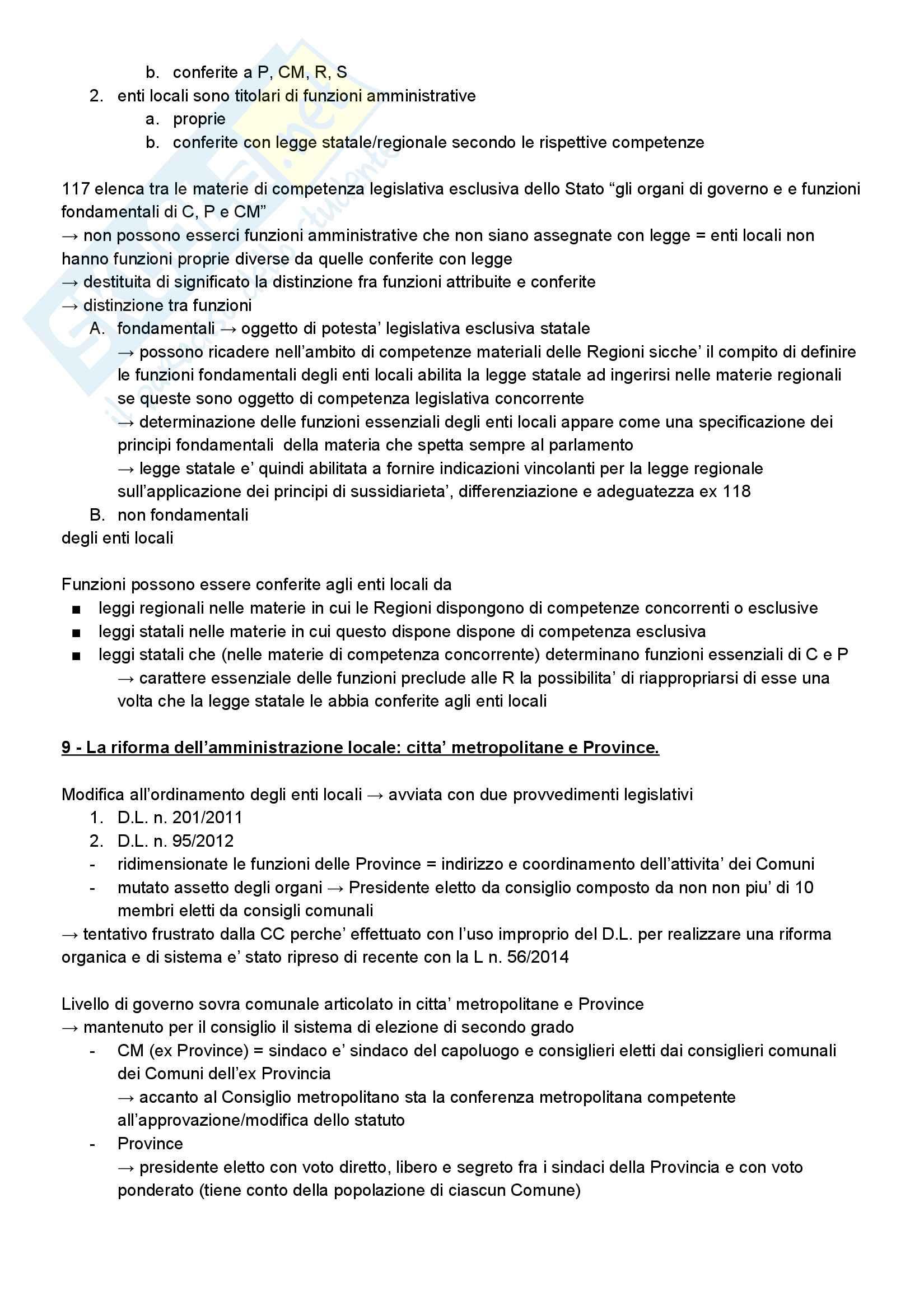 Riassunto esame diritto amministrativo, prof. Barbara Marchetti (UniTn), libro consigliato Manuale di Diritto Amministrativo, Guido Corso, ultima edizione, AA. 2016/2017 Pag. 26