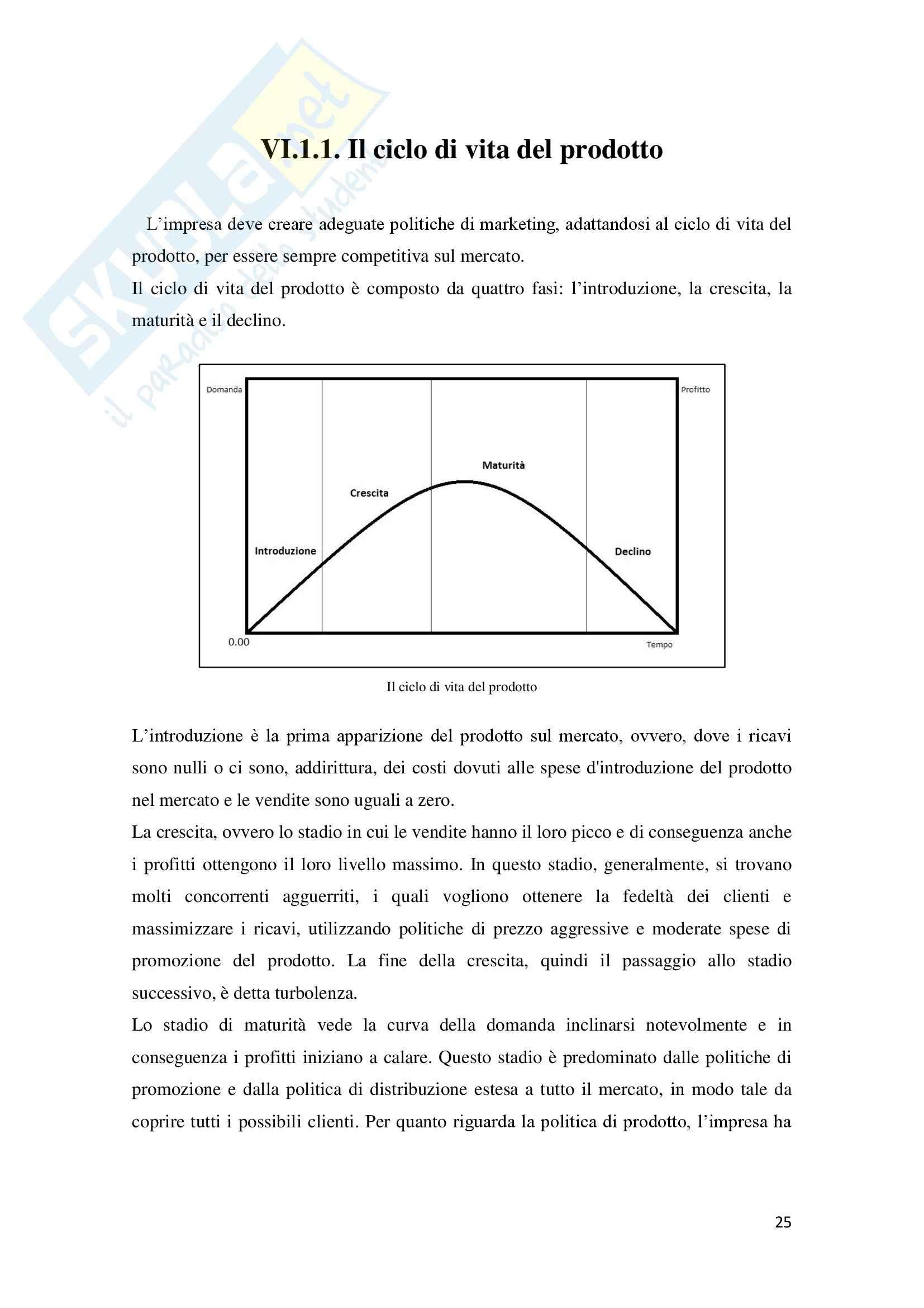Leve e tecniche di marketing, Organizzazione e controllo aziendale Pag. 26