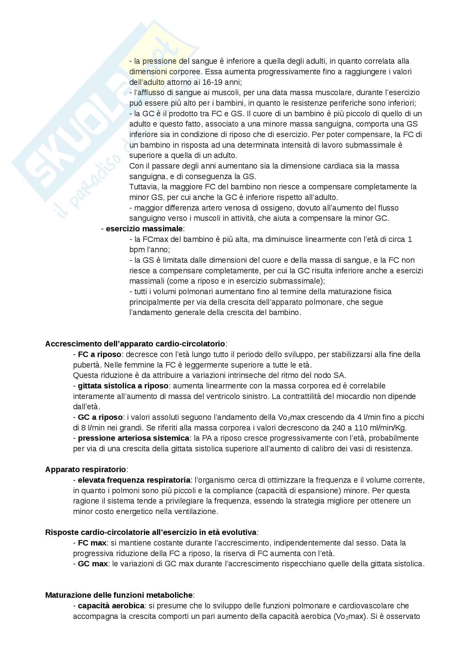 Appunti - Fisiologia sportiva Pag. 31