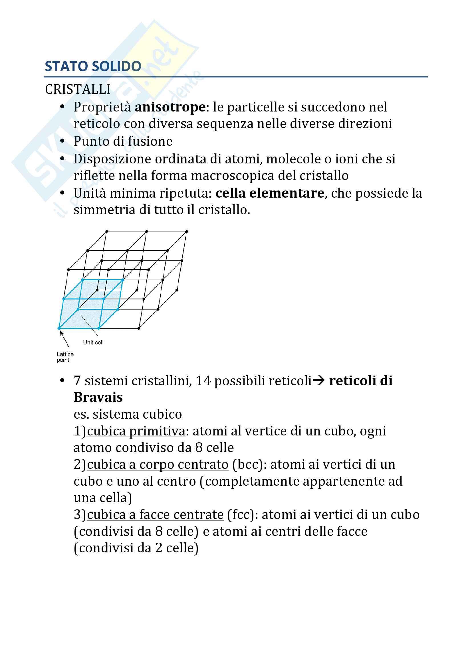 Chimica Inorganica e della materia vivente (parte 2) Pag. 51