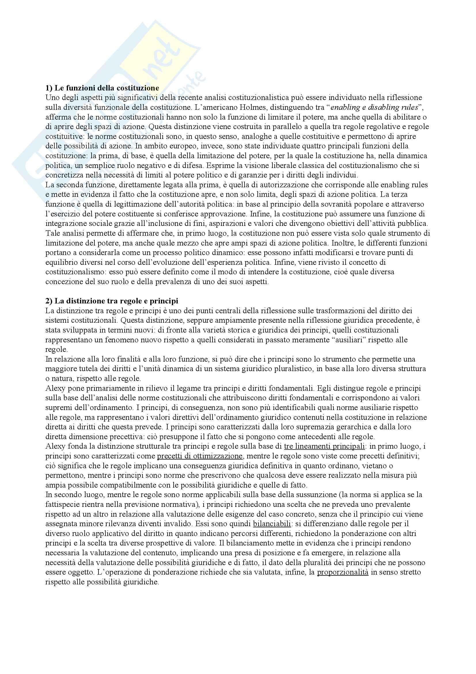 Riassunto esame Filosofia del Diritto, prof. Bongiovanni, libro consigliato Costituzionalismo e Teoria del Diritto