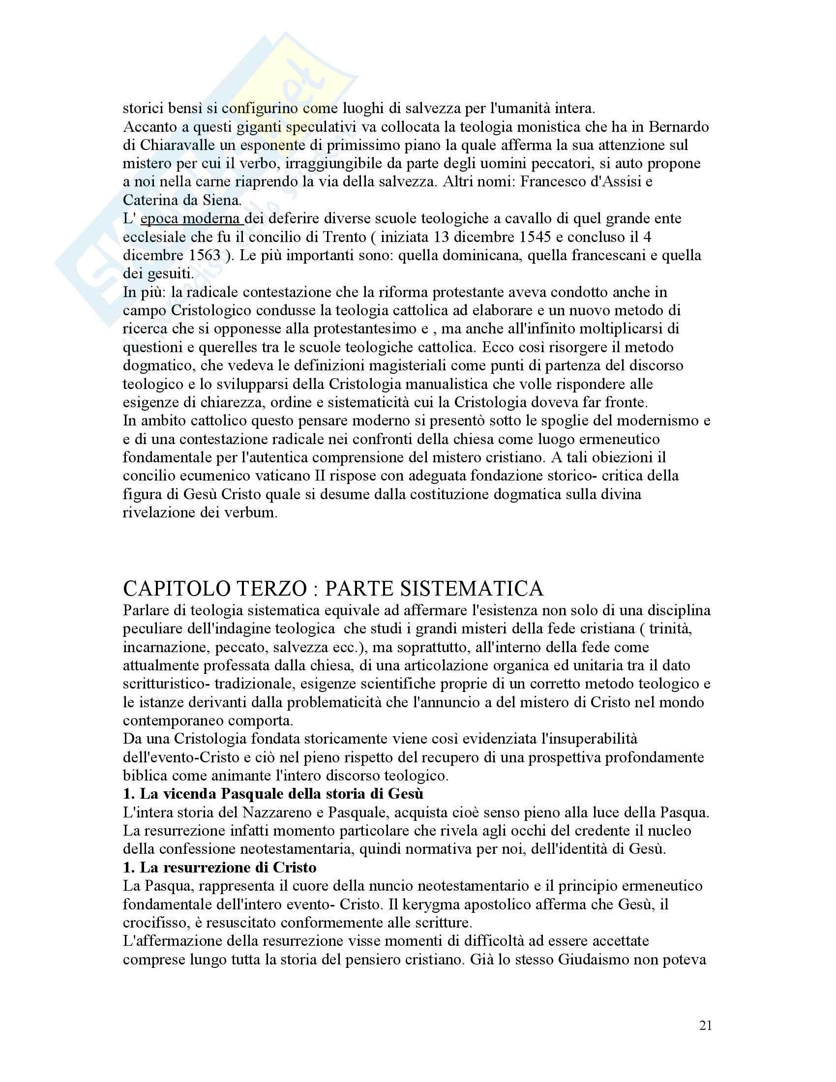 Teologia dogmatica - Appunti Pag. 21