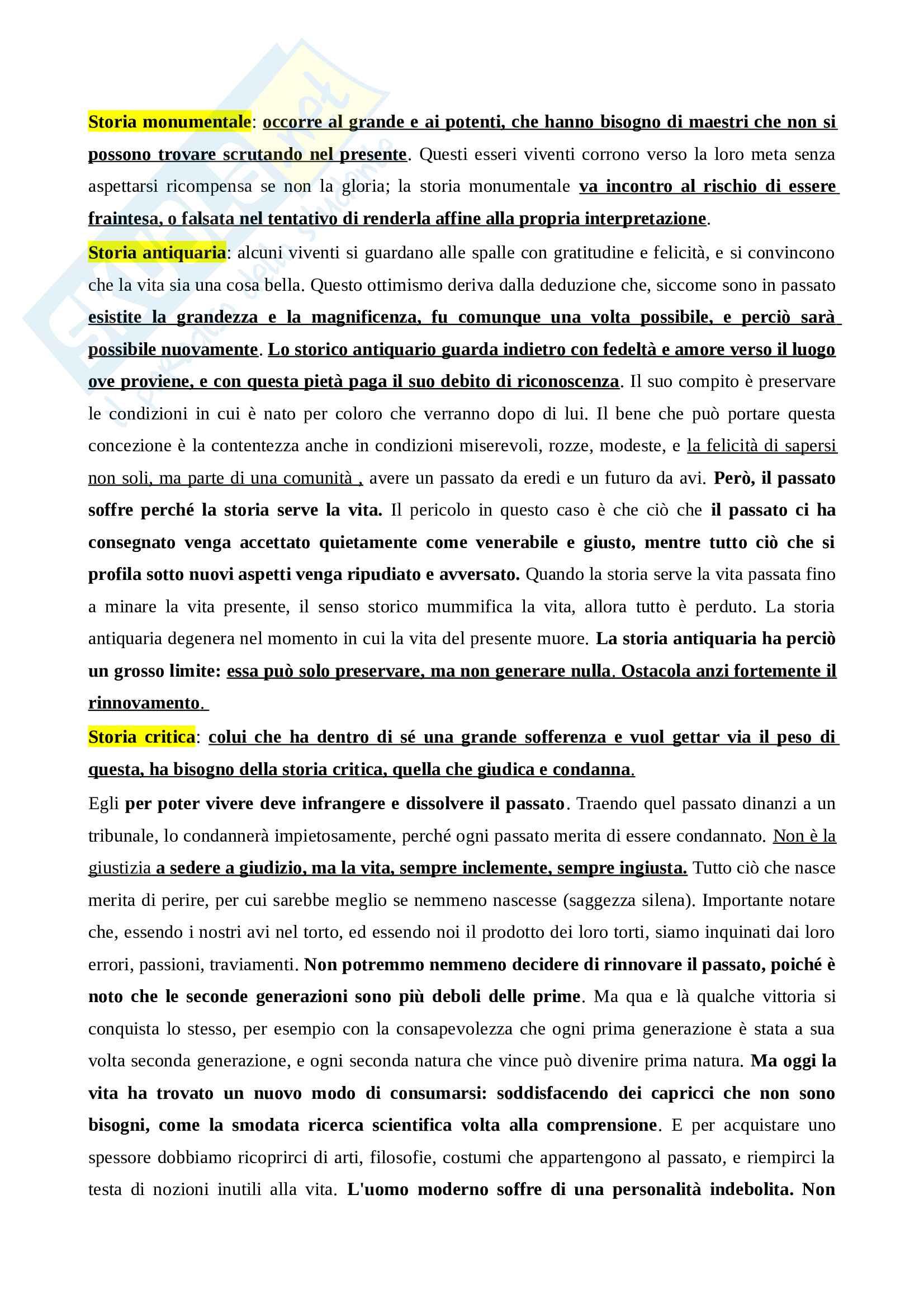 Riassunto esame Storia della filosofia - nascita della tragedia in Nietzsche, prof. Fornari Pag. 6