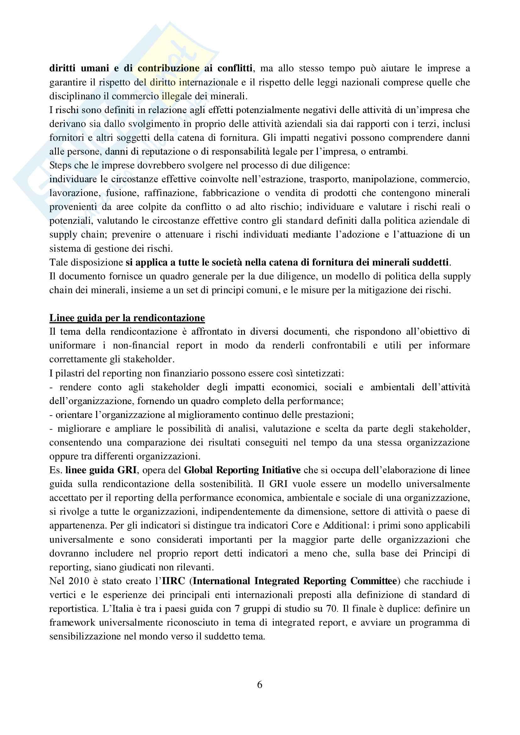 Riassunto esame Etica e mercato, prof. De Chiara, libro consigliato Stakeholder engagement per strategie di sostenibilità, De Chiara Pag. 6