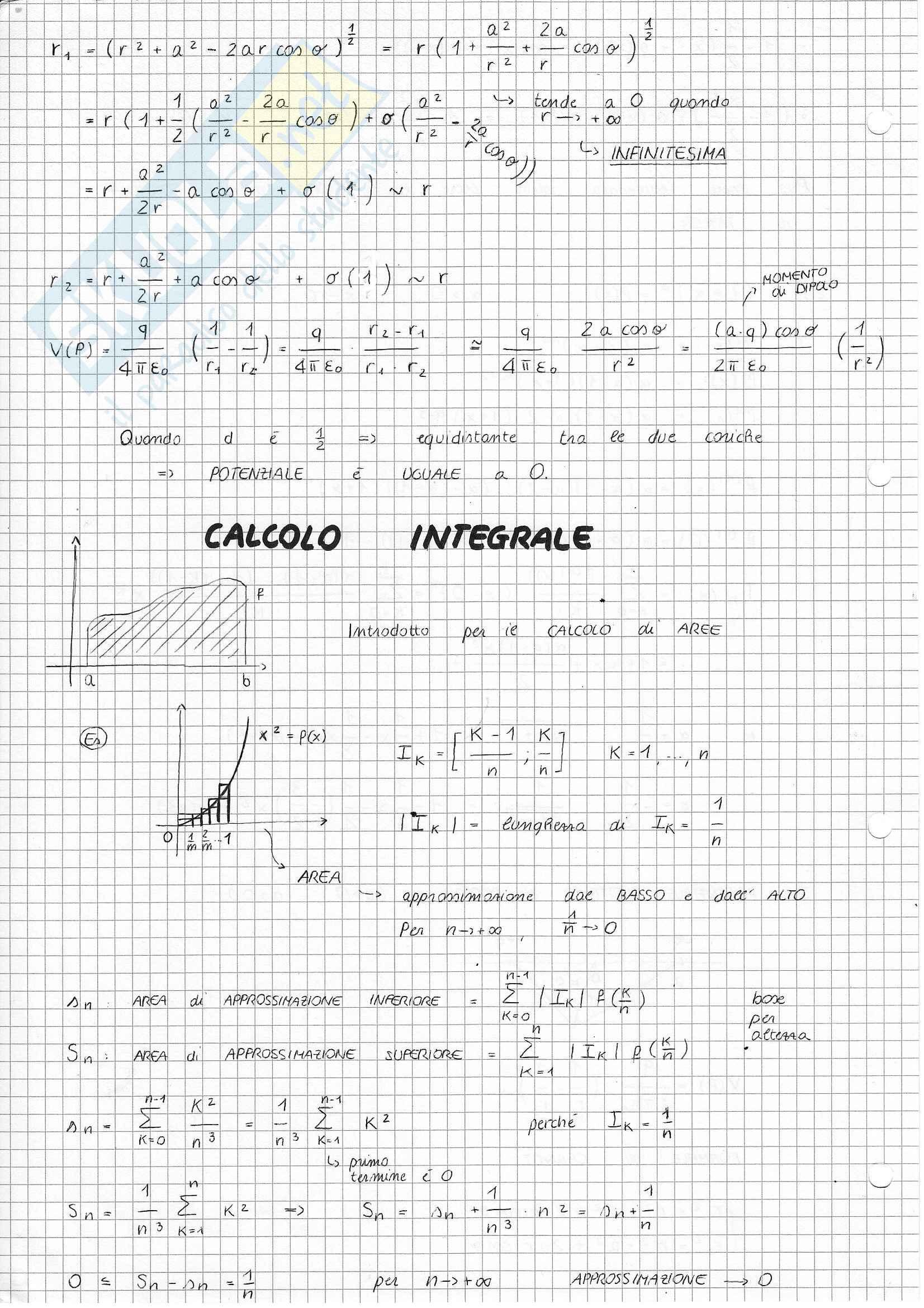Analisi e Geometria 1 - Calcolo integrale
