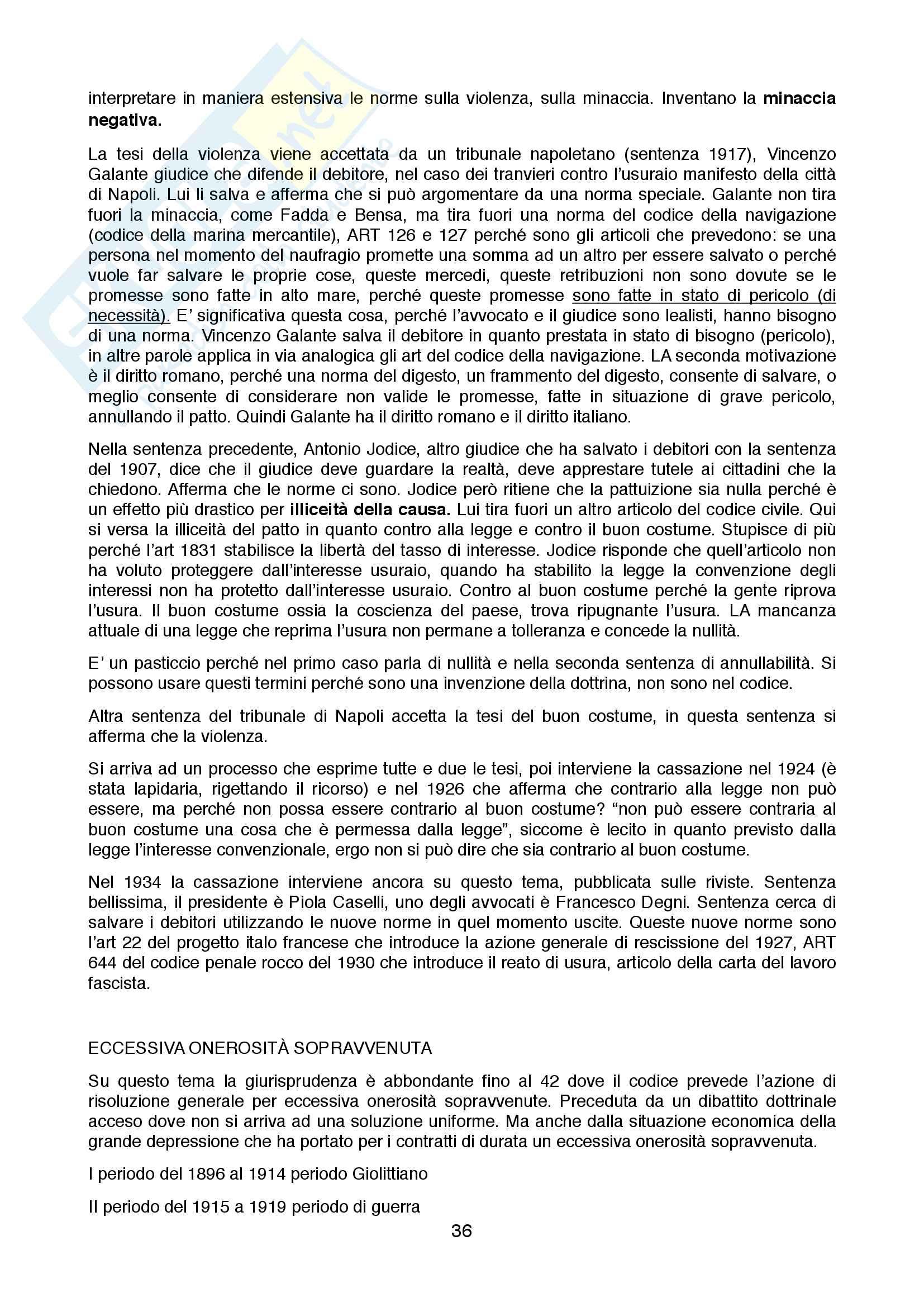 Storia dei contratti e obbligazioni Pag. 36