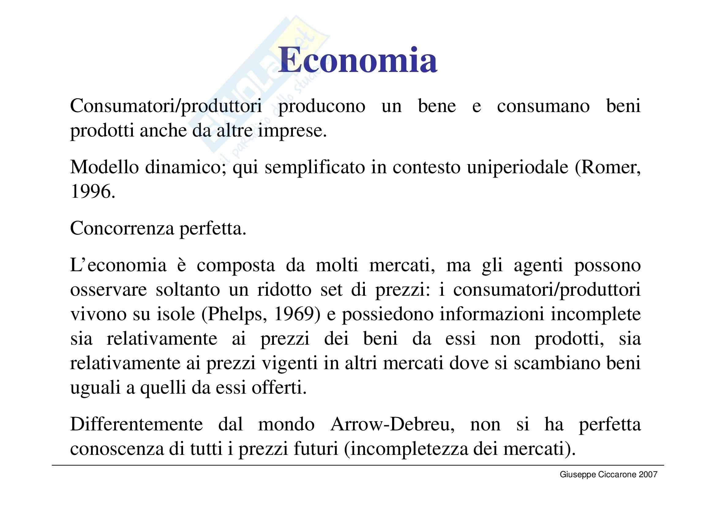 Economia monetaria - la curva di Lucas Pag. 2