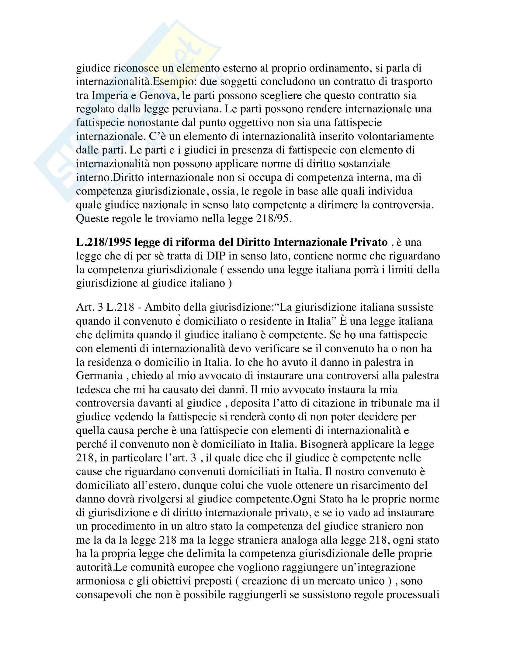 Diritto internazionale Pag. 2