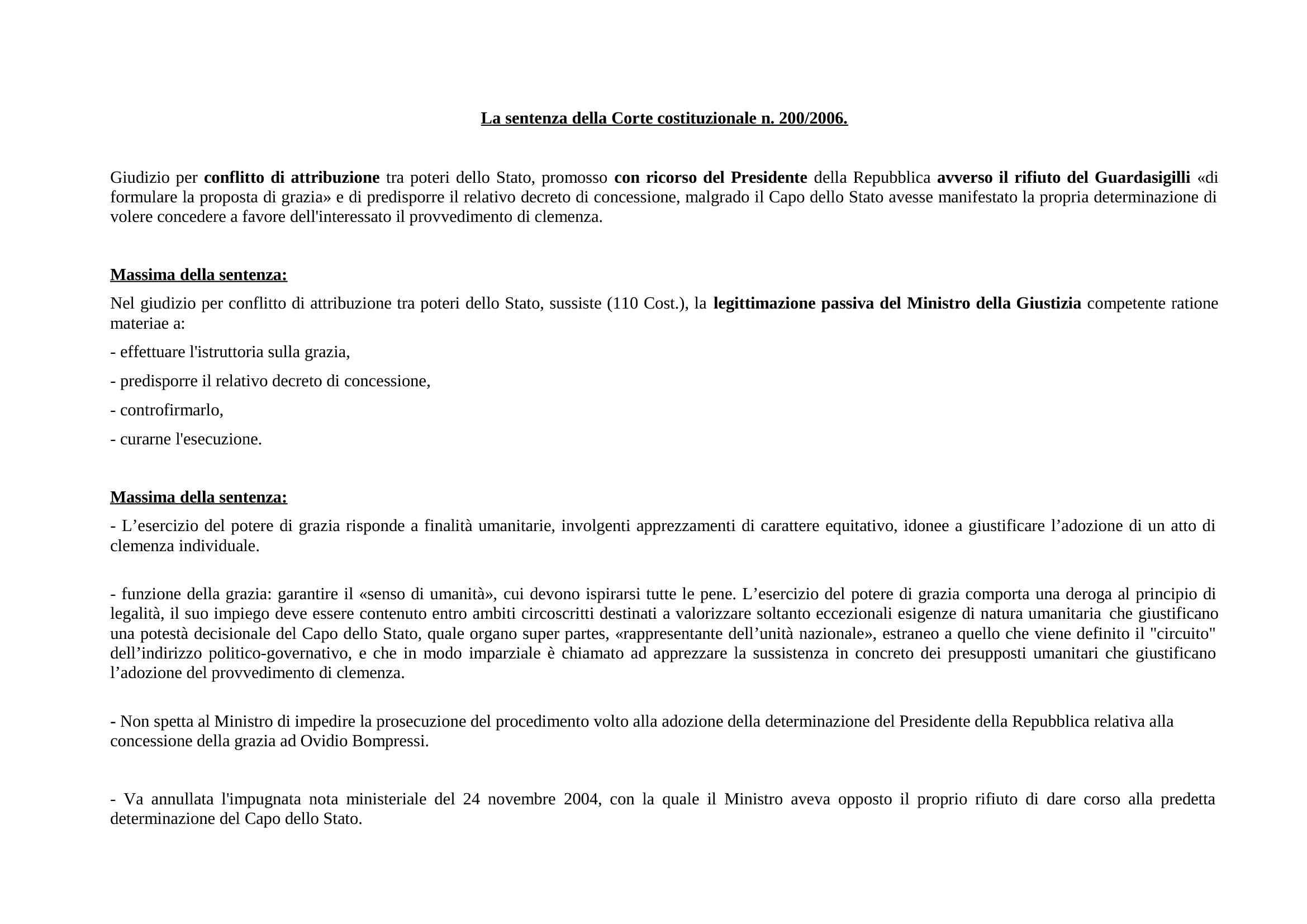dispensa L. Cassetti Diritto Costituzionale