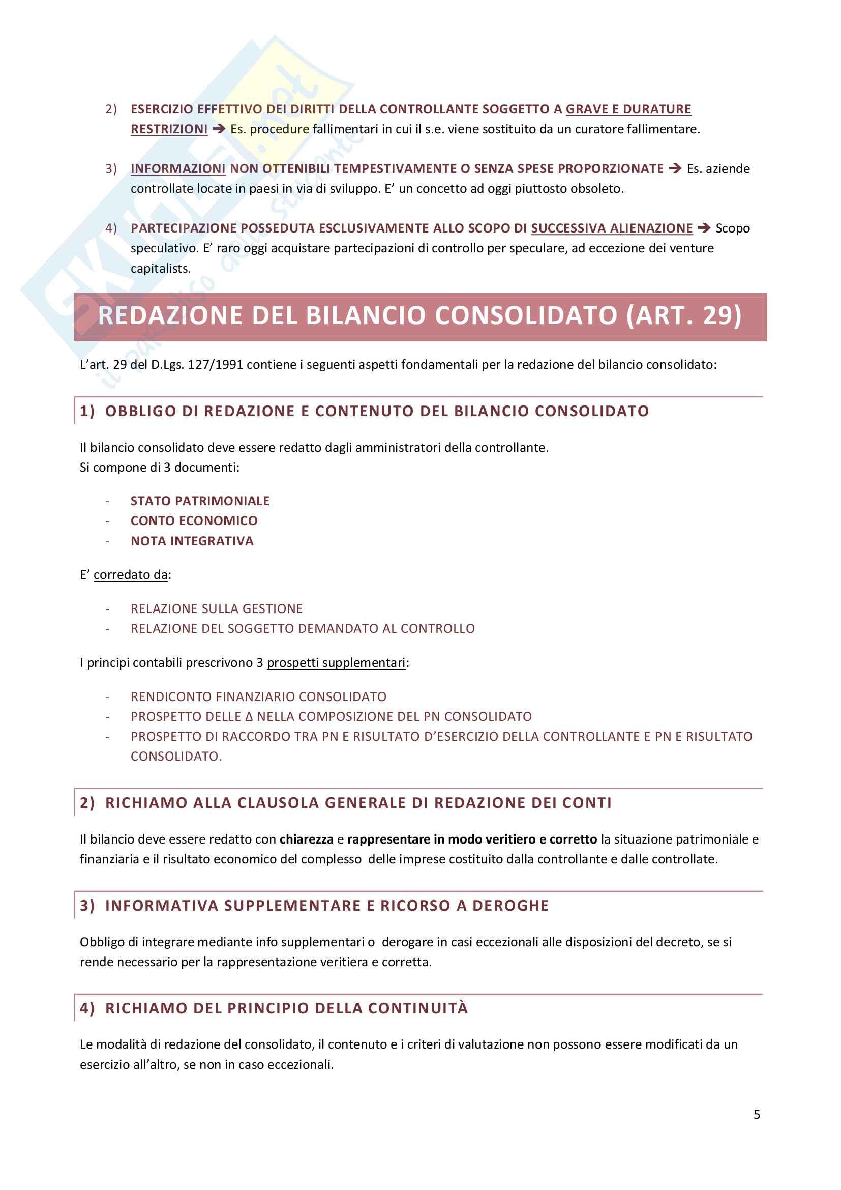Riassunto esame Economia dei gruppi e delle Concentrazioni Aziendali, prof. Celli Pag. 36