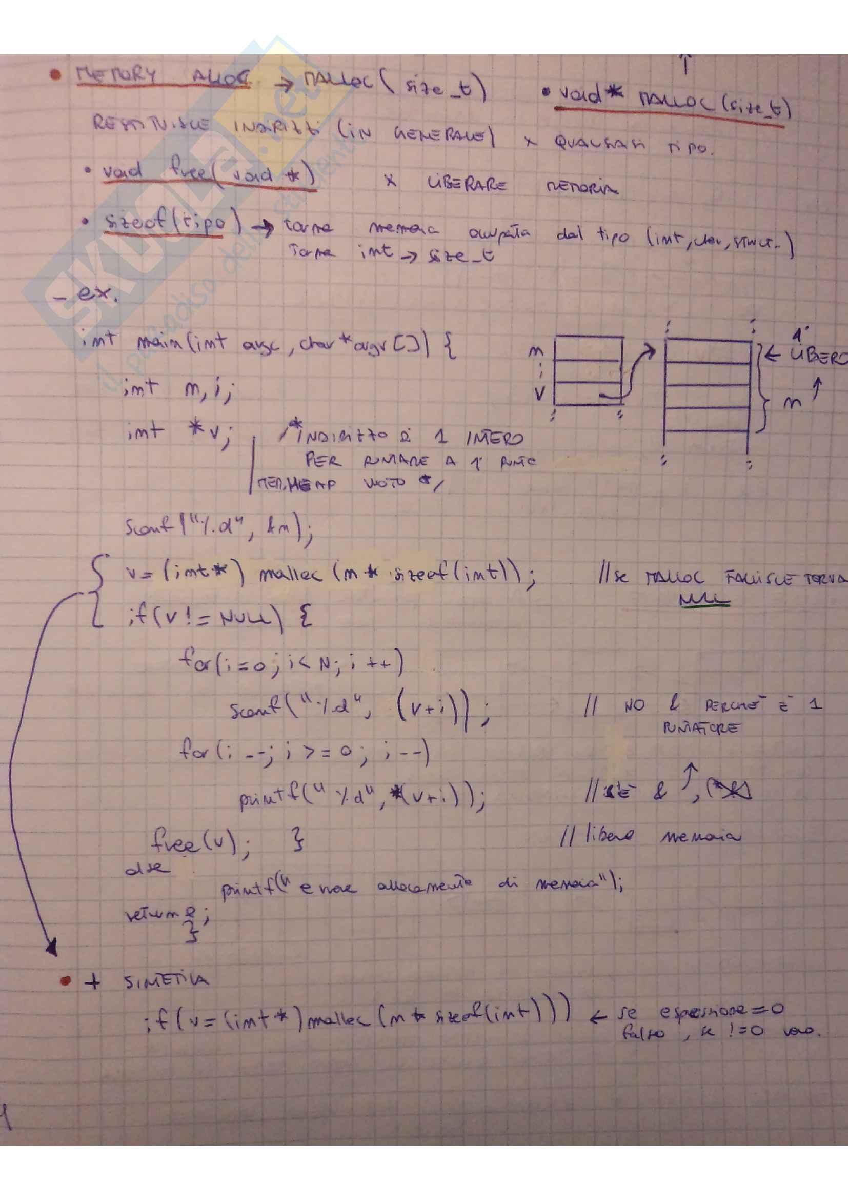 Teoria Programmazione in C e esercizi Pag. 21