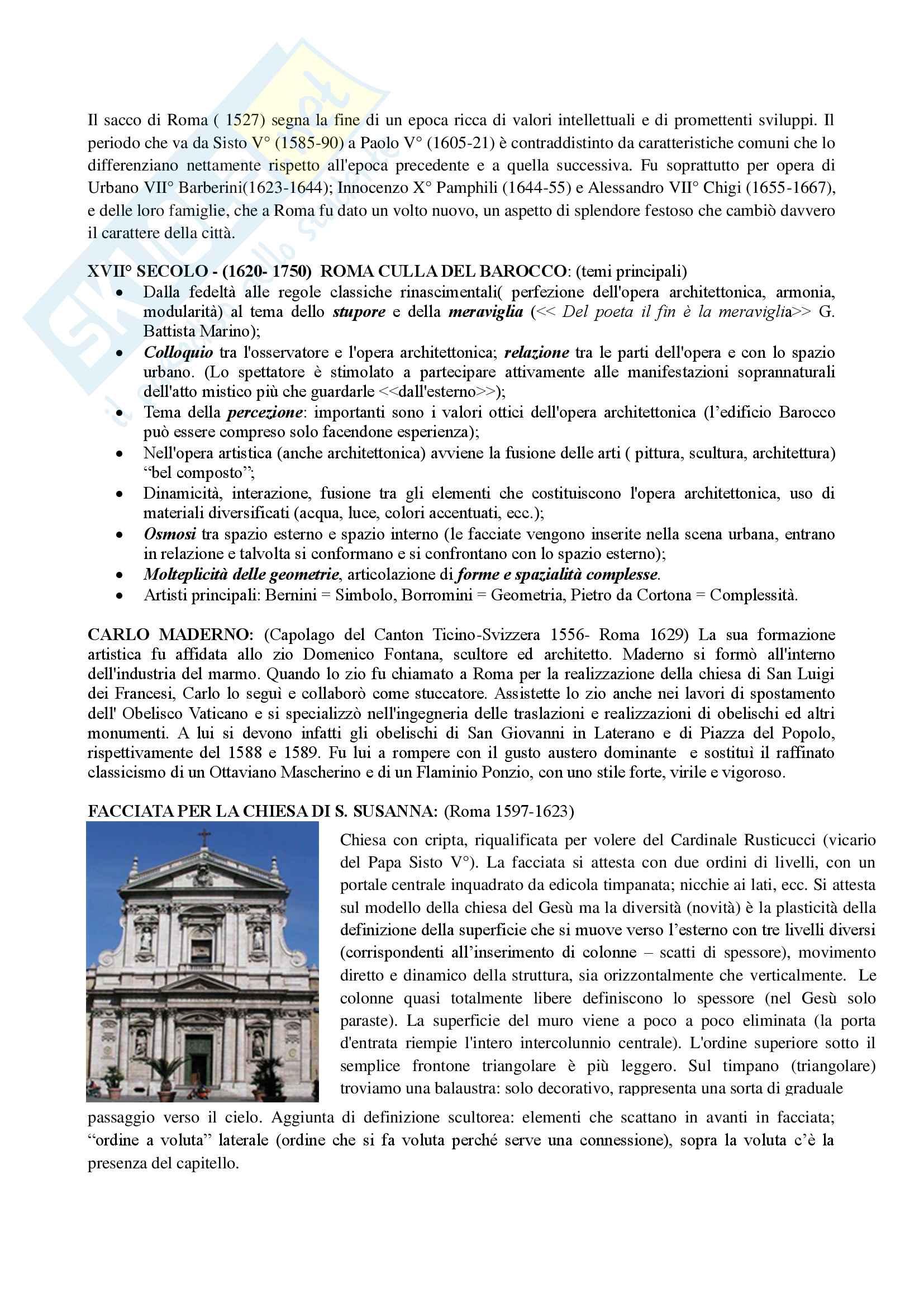 3 Architettura Barocca tra 600 e 700