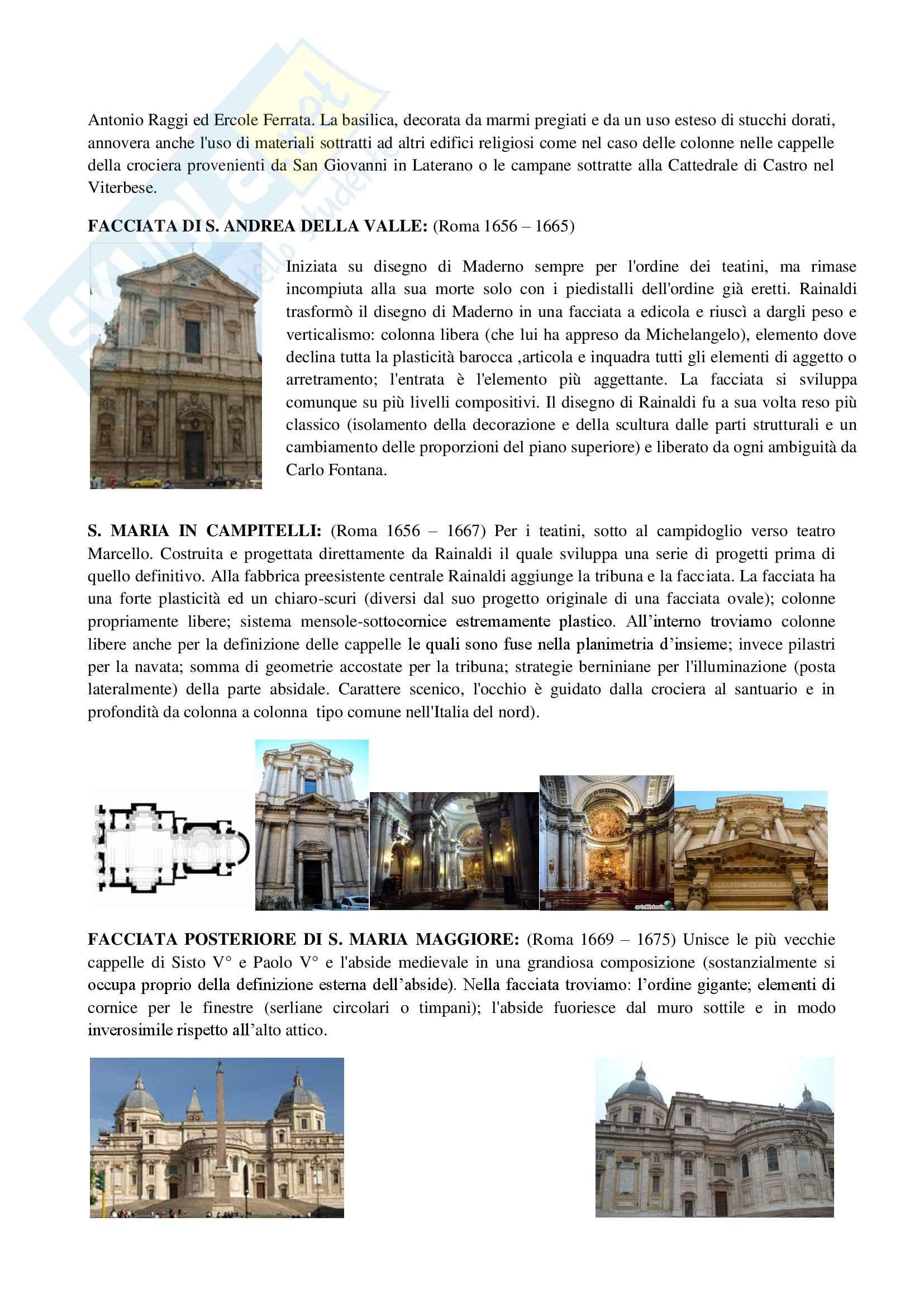 3 Architettura Barocca tra 600 e 700 Pag. 16