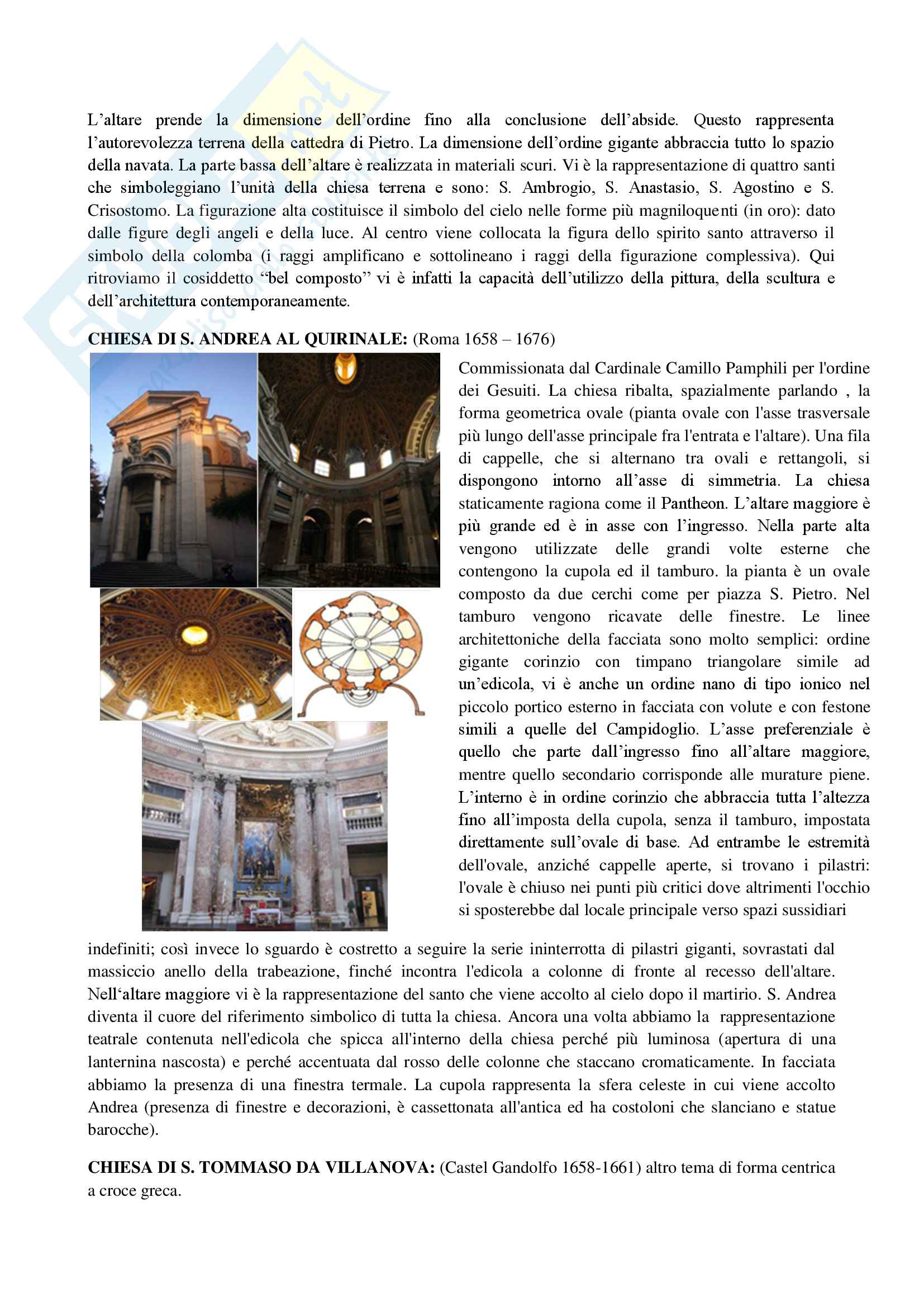 3 Architettura Barocca tra 600 e 700 Pag. 6