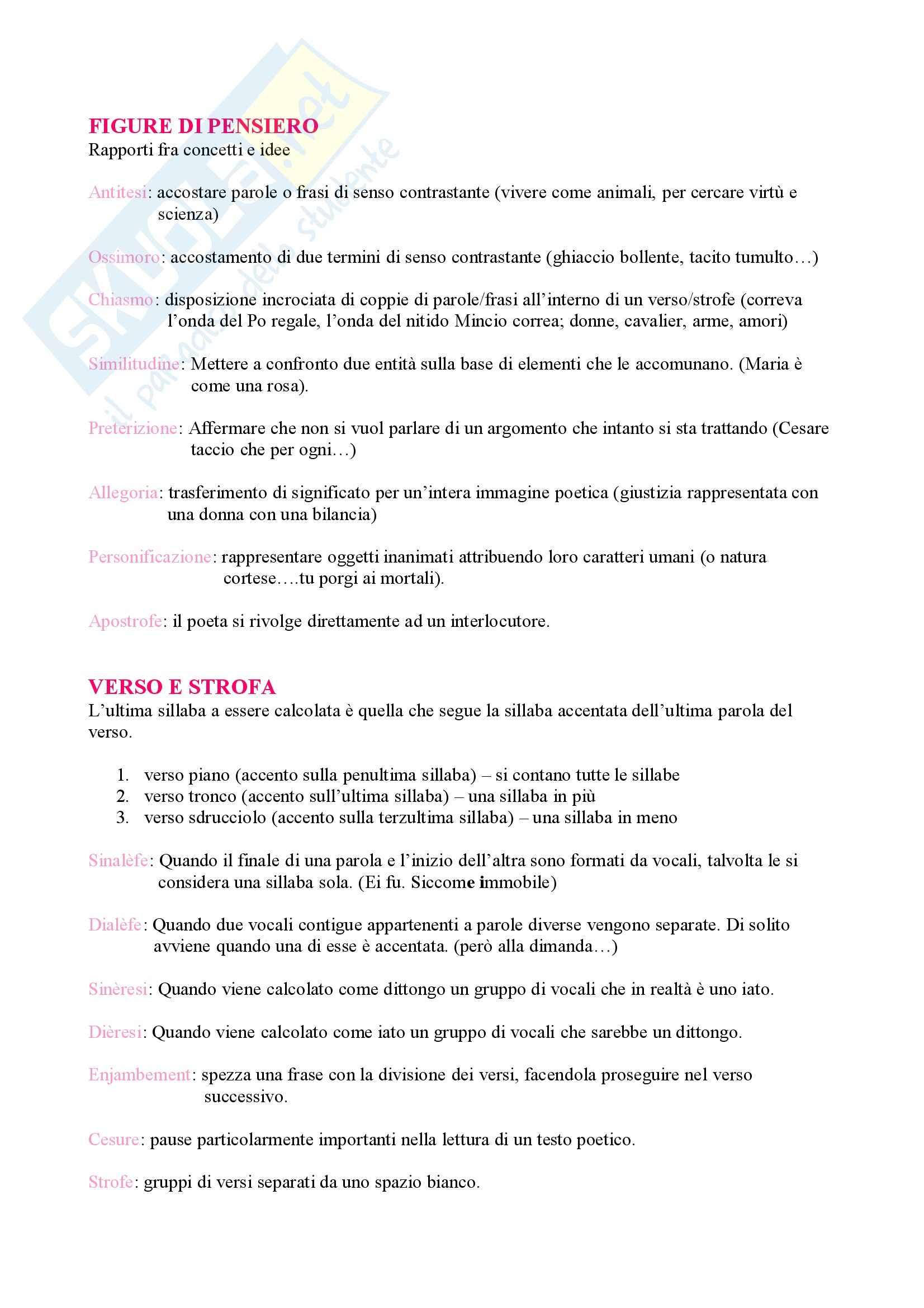 Letteratura italiana Pag. 16