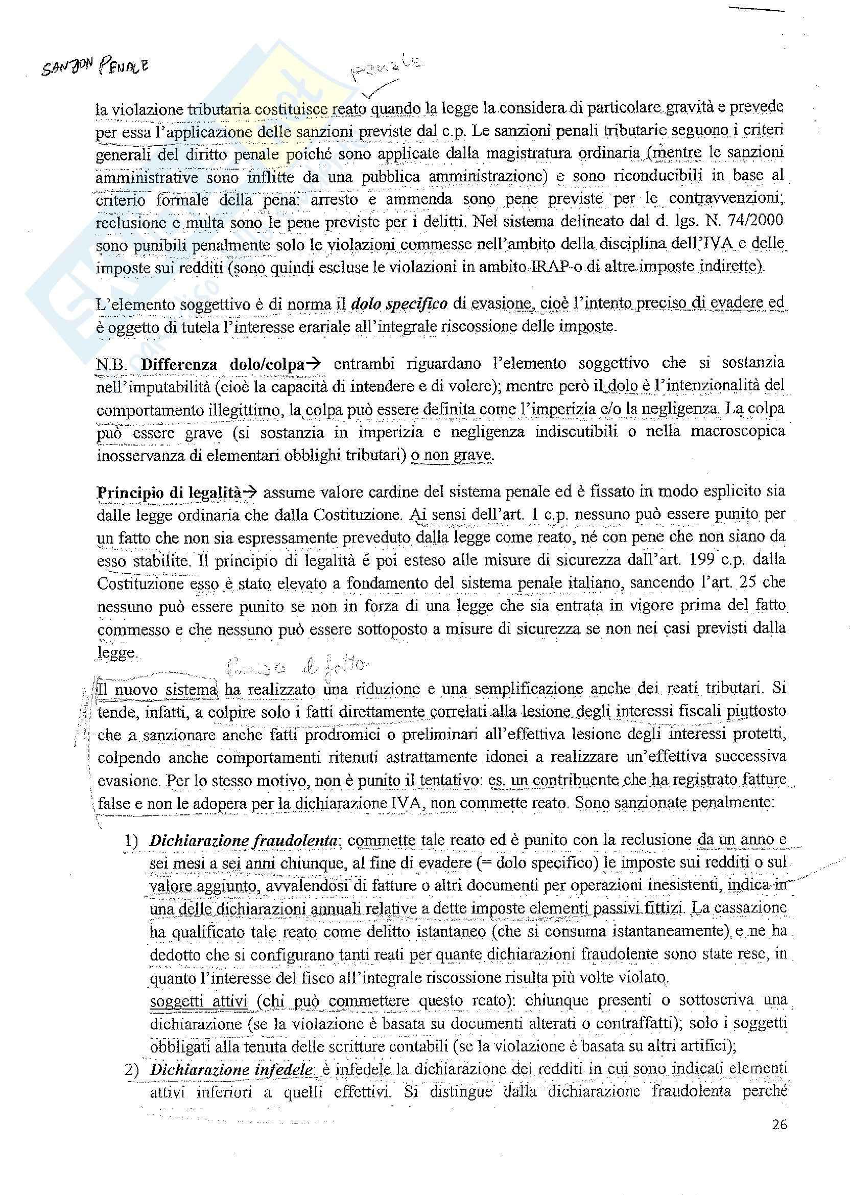 Diritto tributario - le fonti del diritto tributario Pag. 26