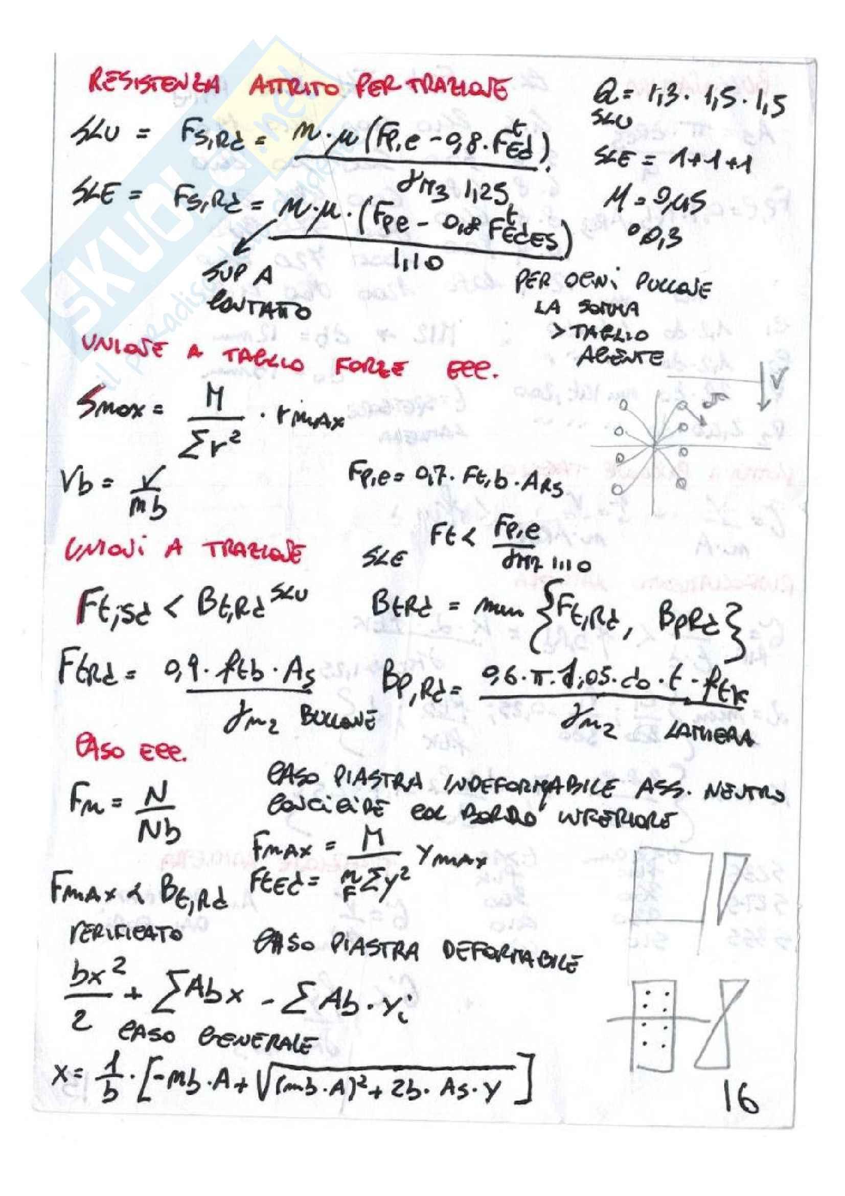 Formulario Tecnica Delle Costruzioni Pag. 16