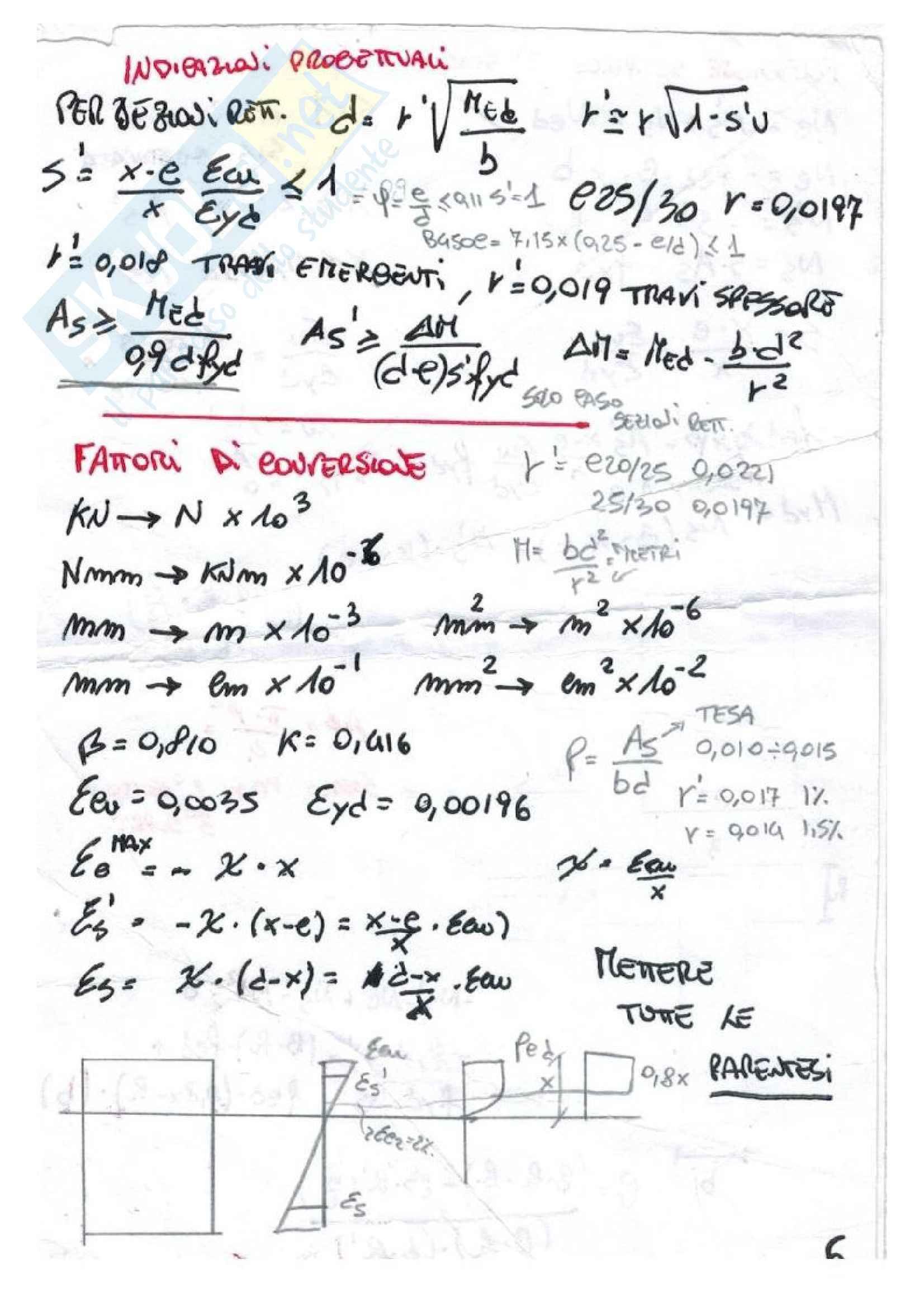 Formulario Tecnica Delle Costruzioni Pag. 6