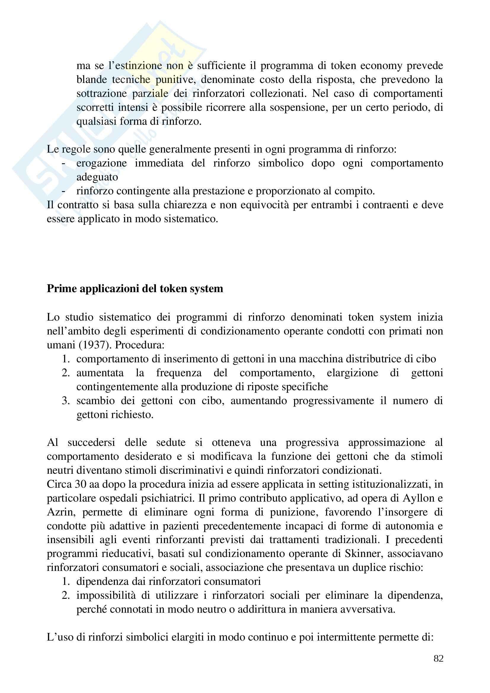 Riassunto esame Psicologia delle Disabilità, prof. Soresi, libro consigliato Disabilità, Trattamento e Integrazione di Soresi Pag. 81