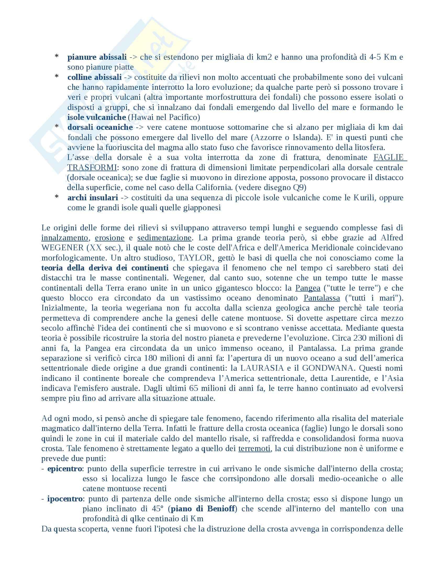 Ambiente dell'uomo, Geografia Pag. 21