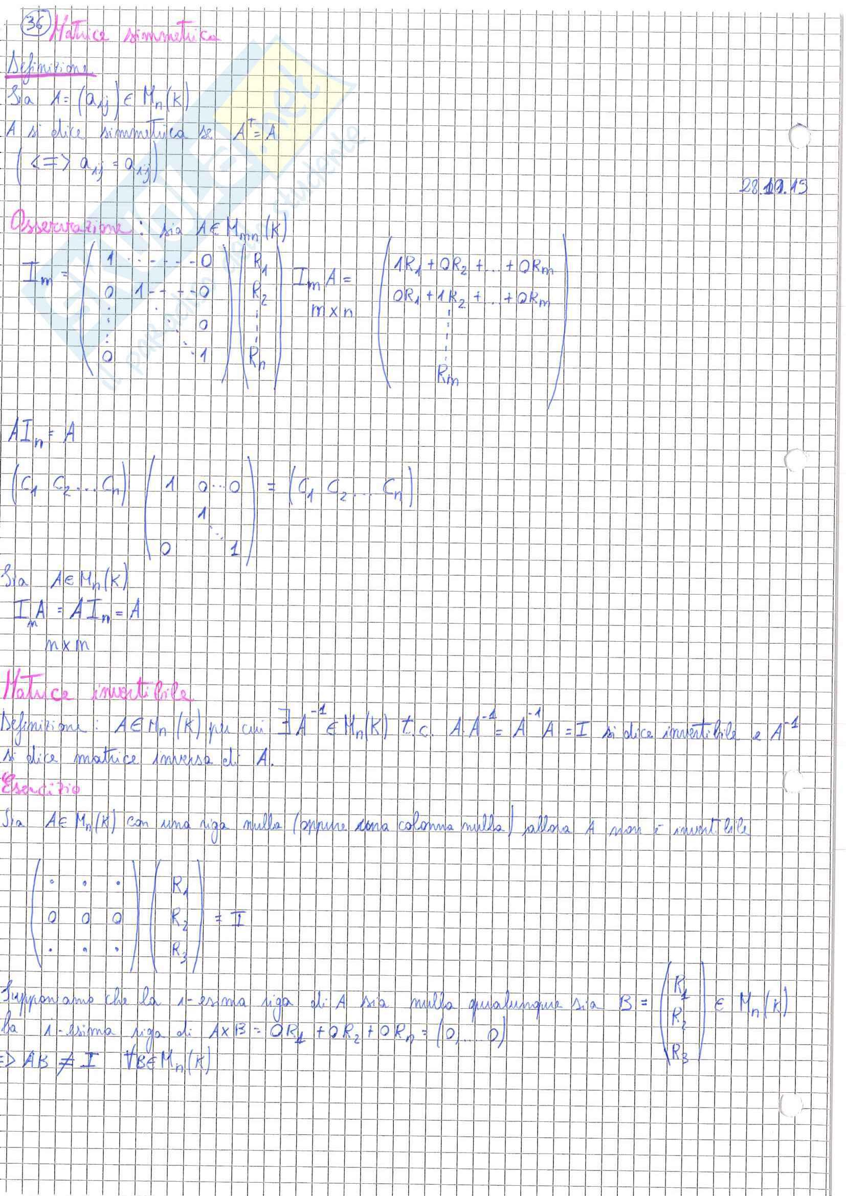 Geometria 1 Pag. 36